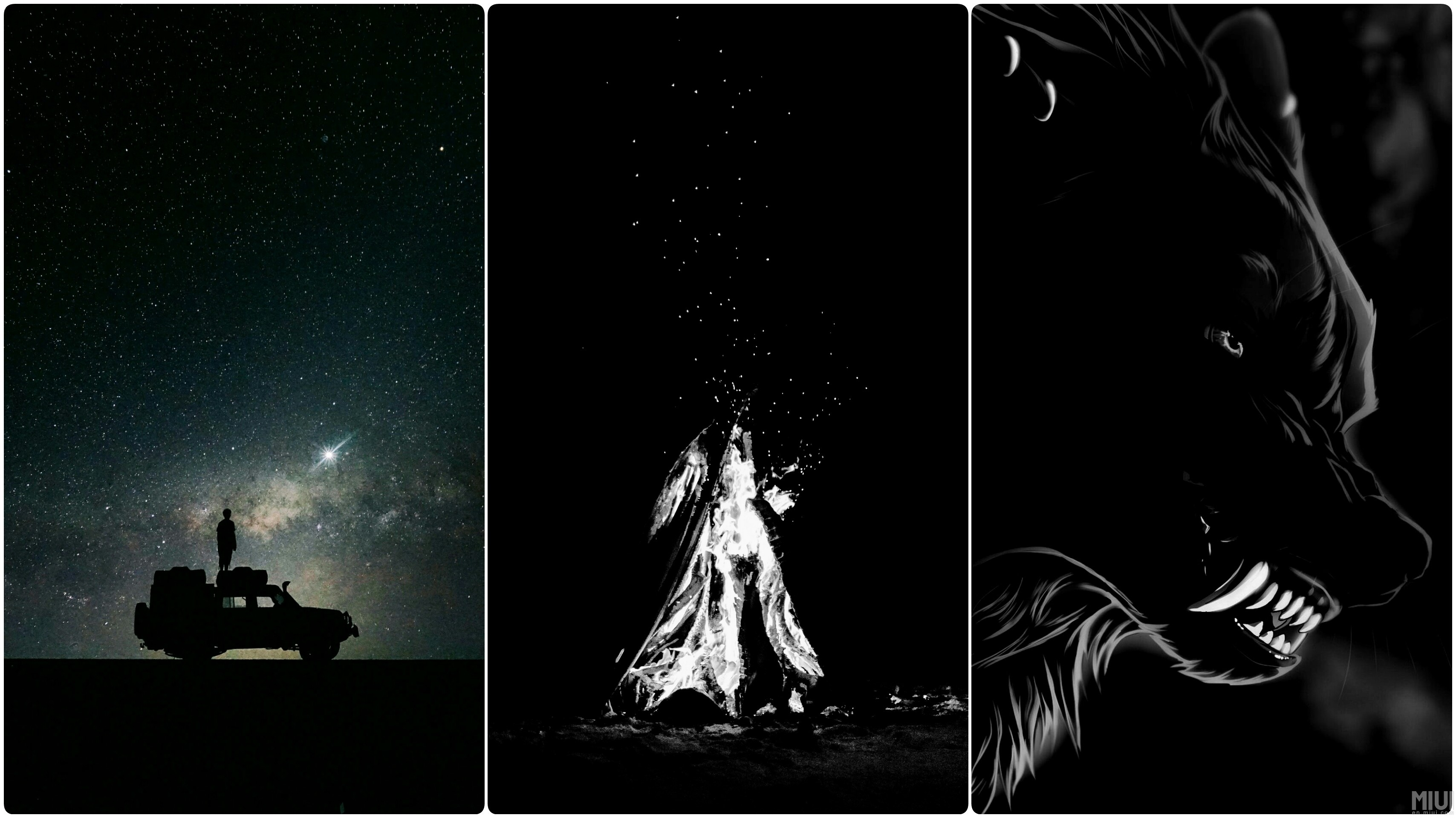3416x1920 Click here to download the black wallpaper collection