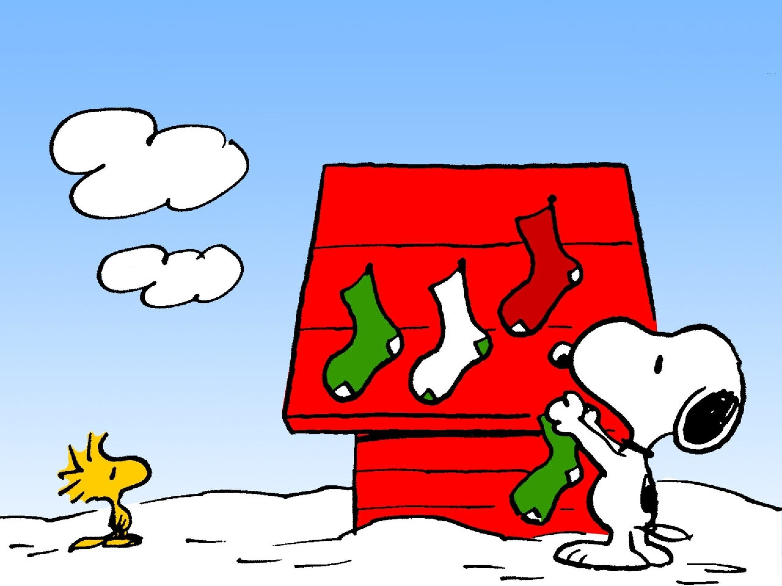 Peanuts Christmas Wallpaper (35+ images)