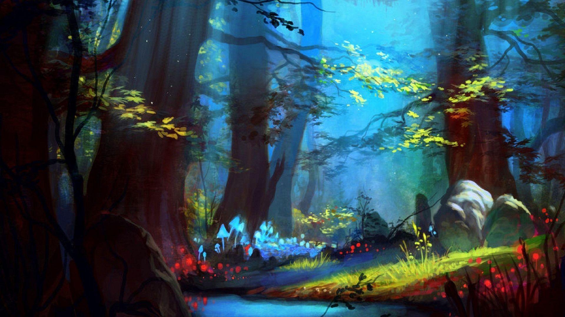 Enchanted Forest Desktop Wallpaper (78+ images)