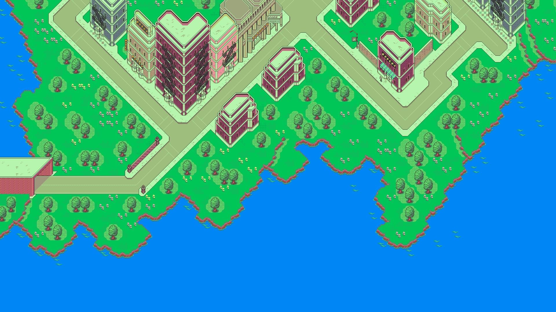 1920x1080 HD-Earthbound-Video-Games-Cityscapes-Mother-Pixelart-Super-
