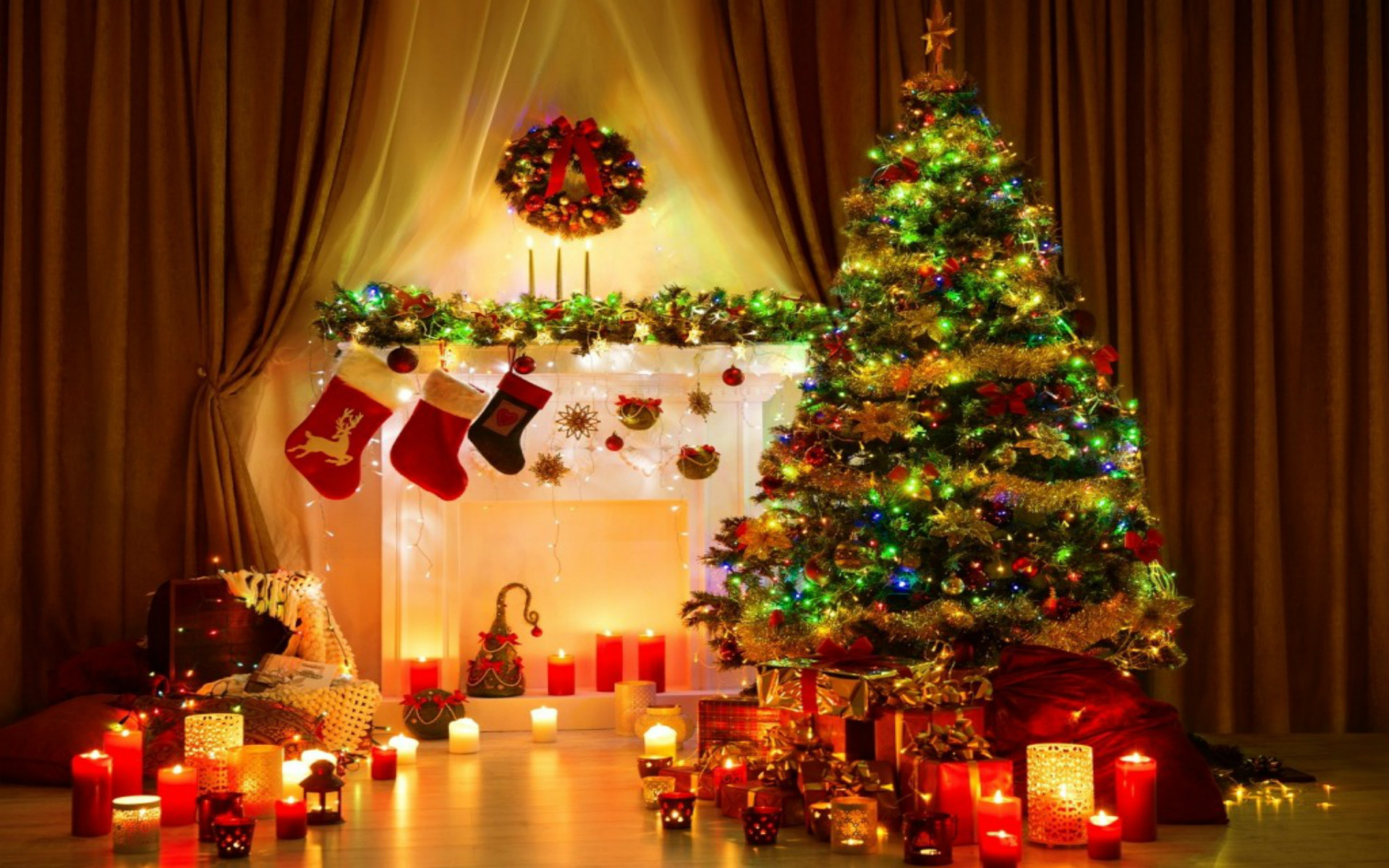 Top 24 Best Free Hd Christmas Wallpapers: Christmas Tree Desktop Background (74+ Images