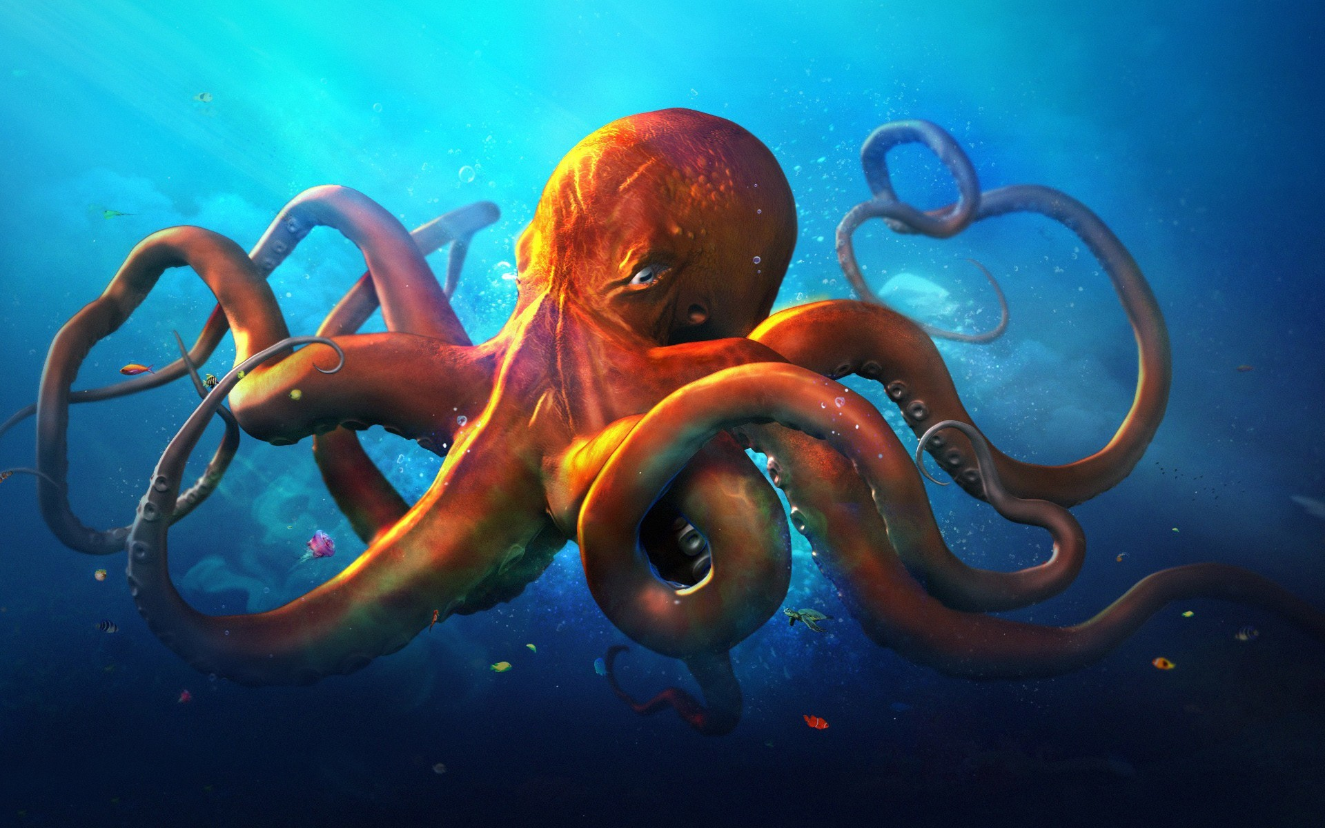 1920x1200 25 Octopus HD Wallpapers | Backgrounds - Wallpaper Abyss ...