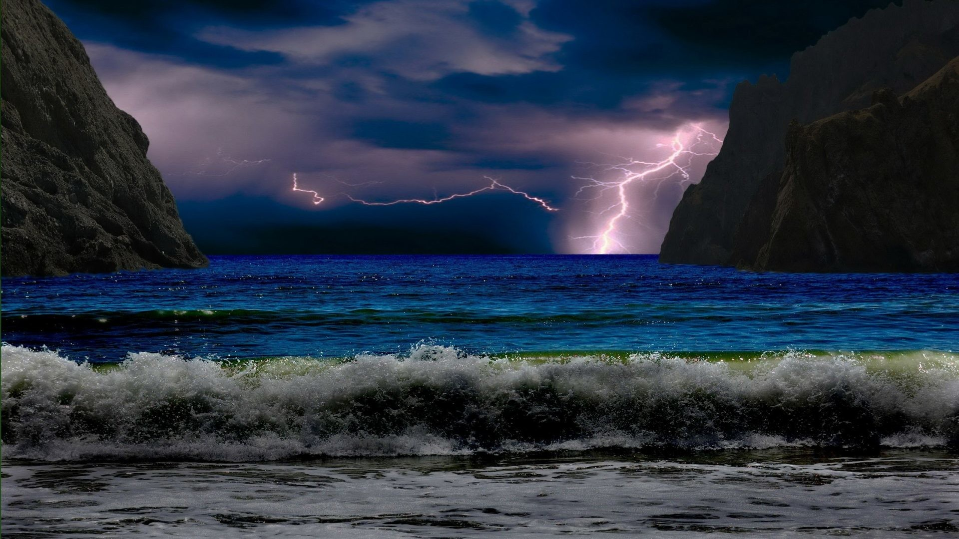 Beach Thunderstorm Wallpaper: Tropical Storm Wallpapers (55+ Images