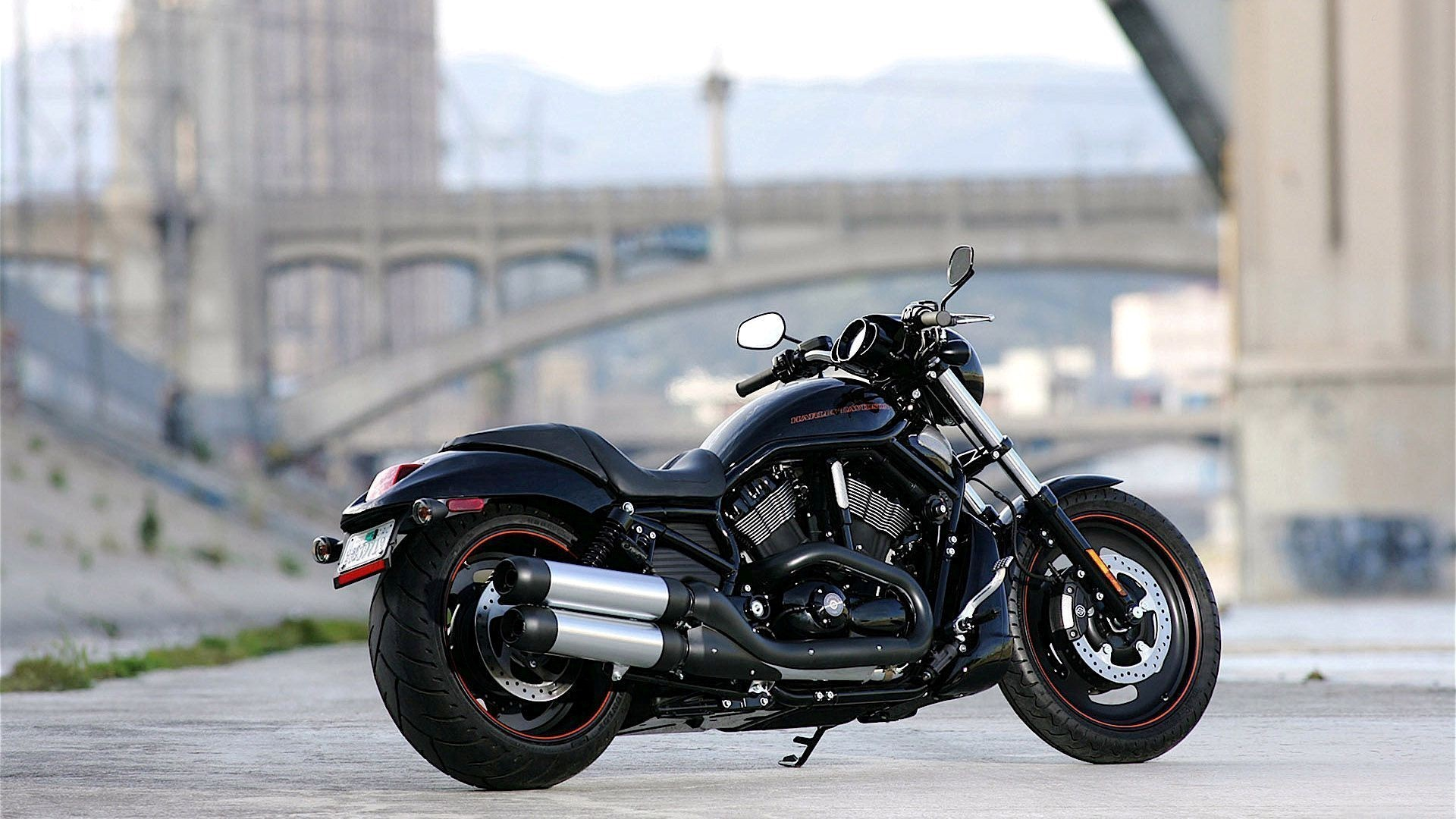 1920x1080 8028 Views 3224 Download New Harley Davidson on Road HD Photo Background