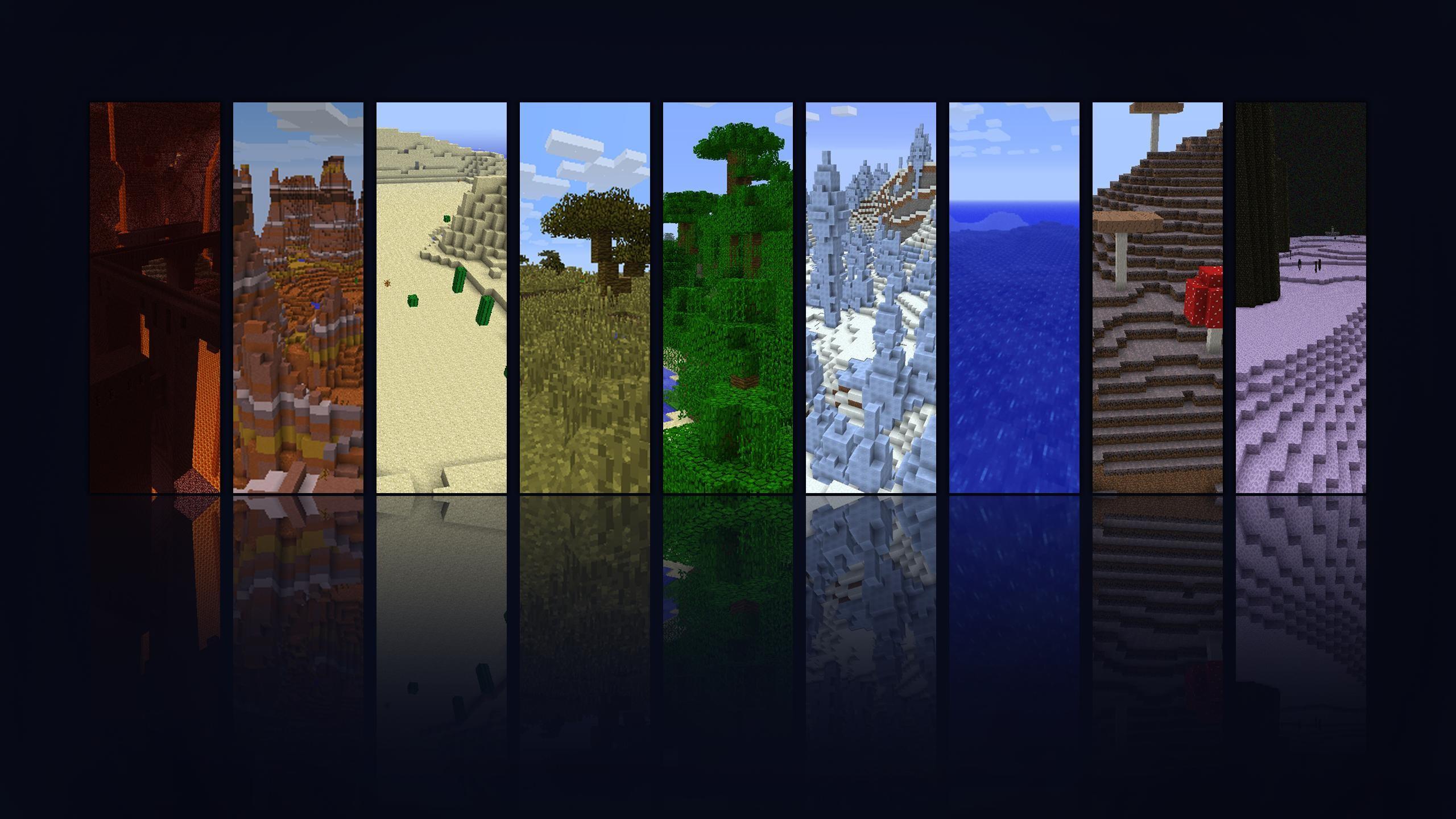 1920x1200 Windows 7 Background Minecraft Modified 1366X768