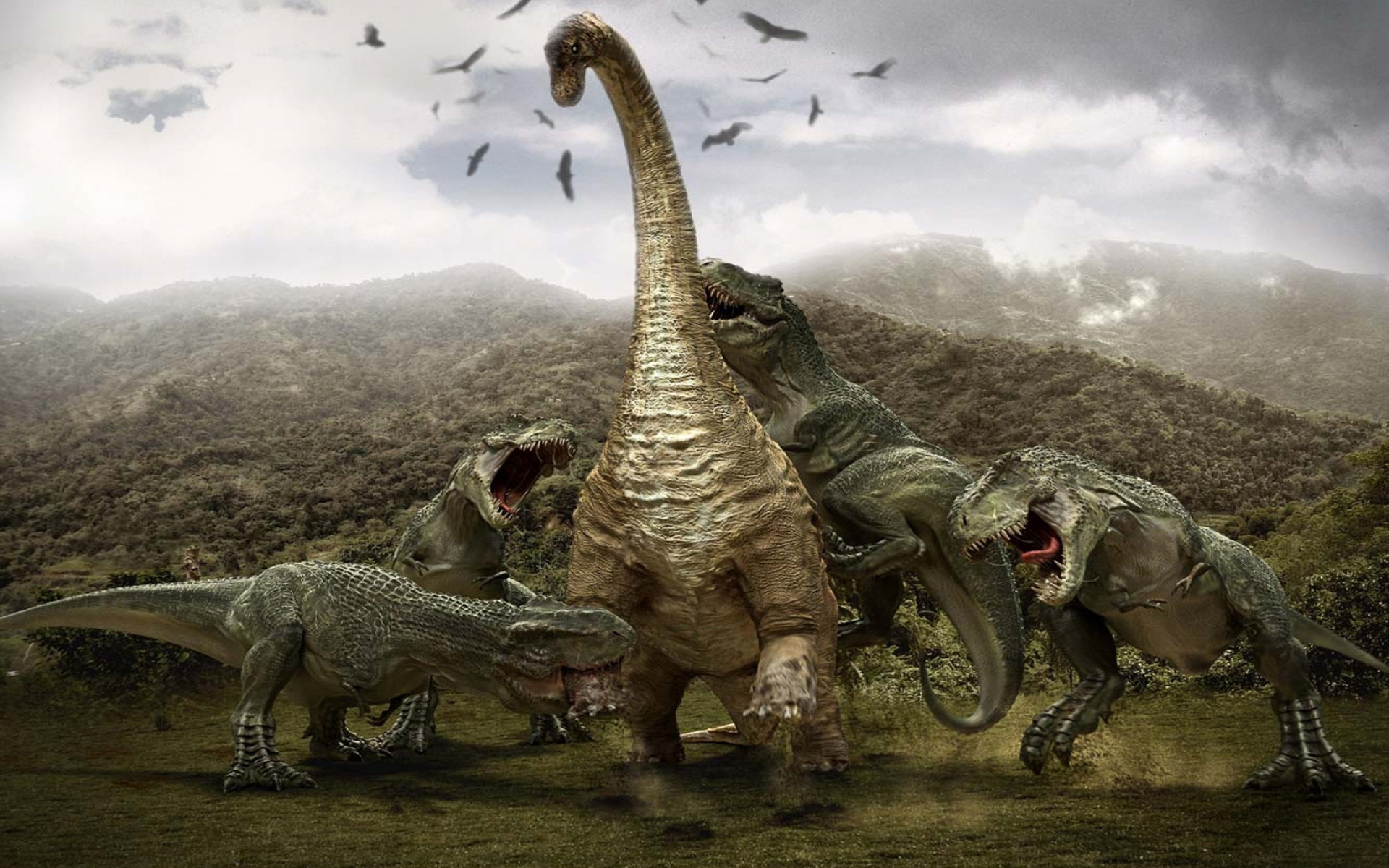 1920x1200 3d Dinosaur Hd Wallpapers.