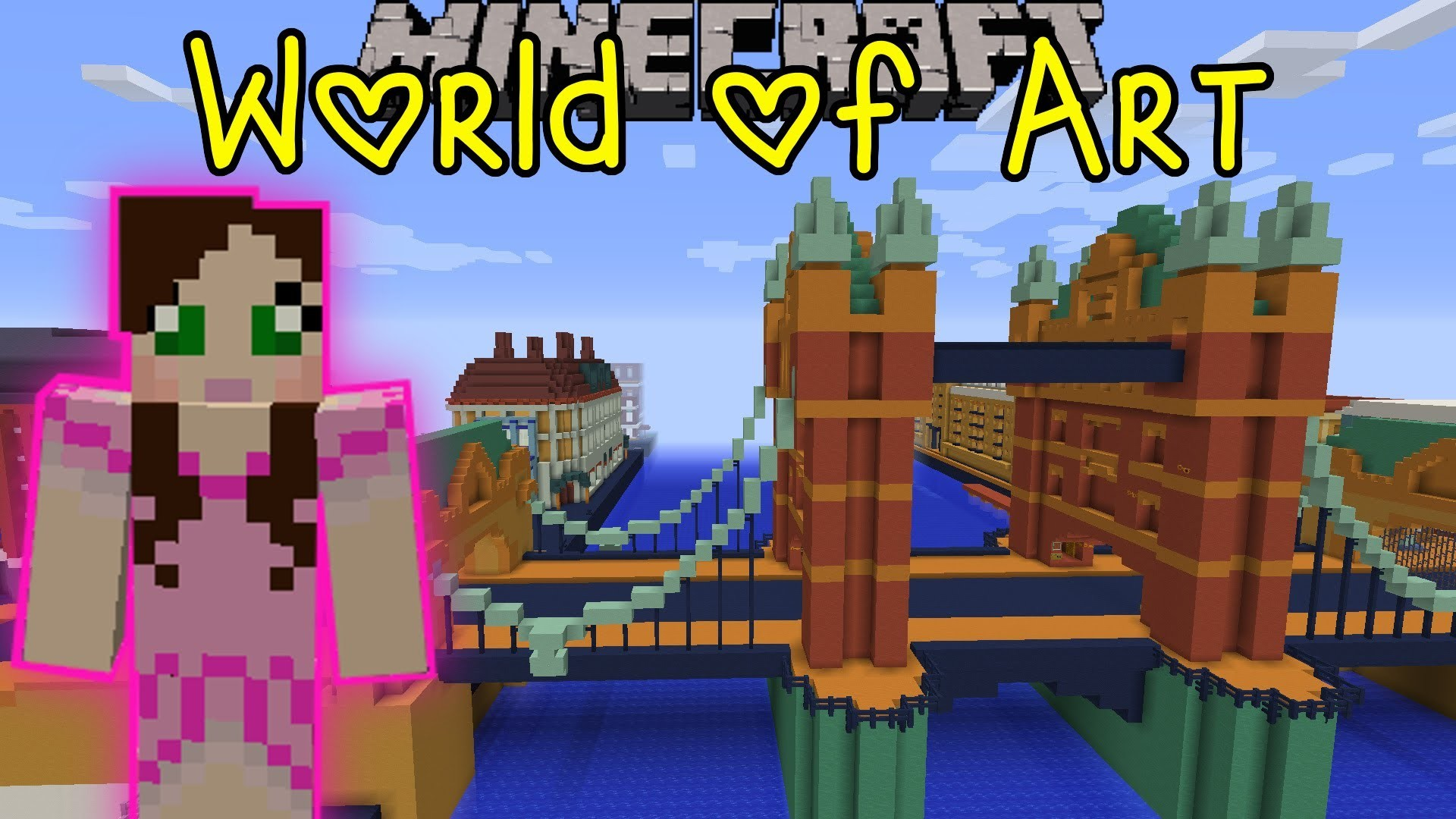 1920x1080 Pat And Jen Minecraft: World Of Art (Custom Map) Part 3 GamingWithJen