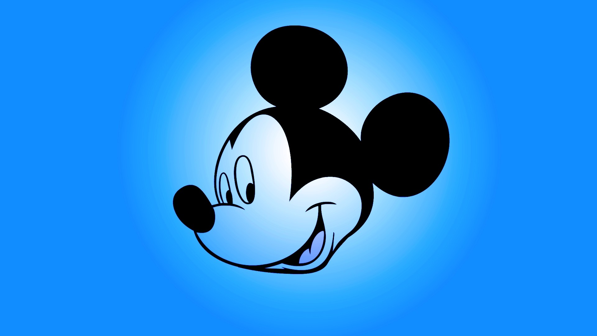 1920x1080 mickey mouse blue wallpaper