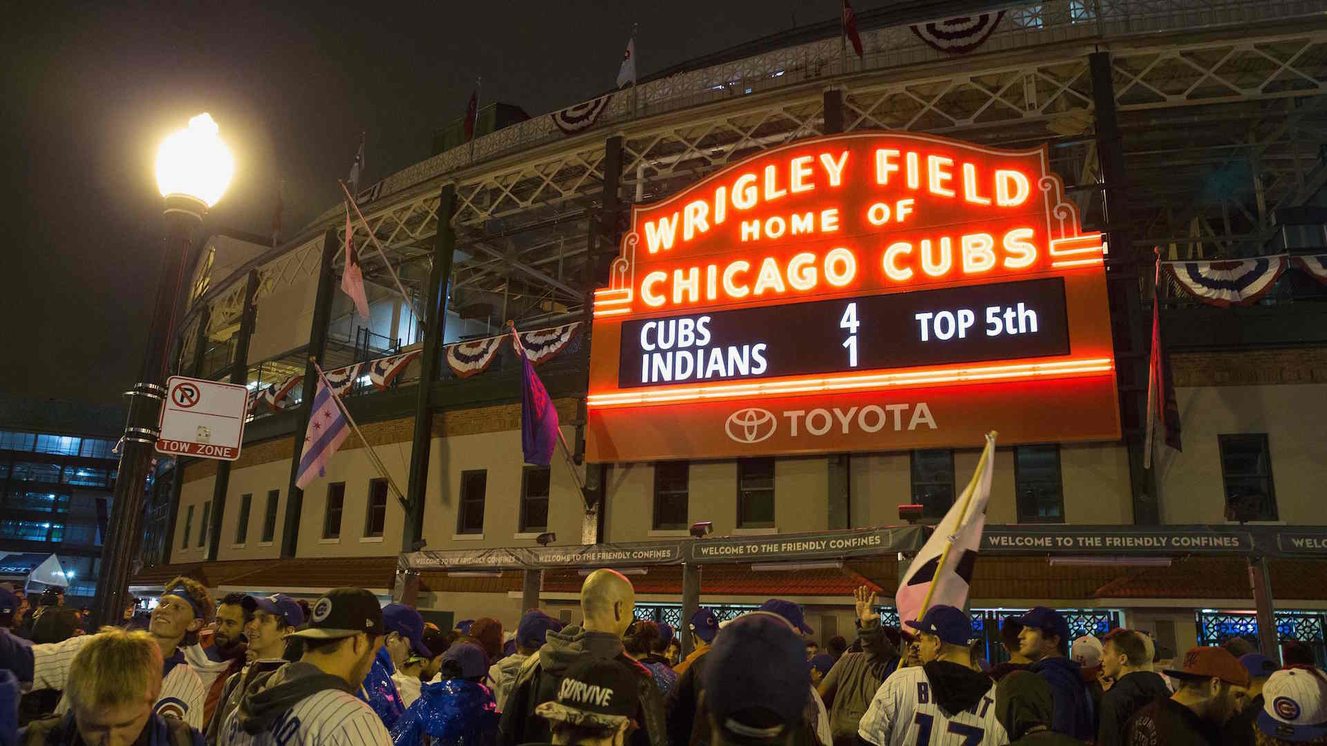 1920x1080 Cubs return to Wrigley Field as World Series champs - The Washington Post