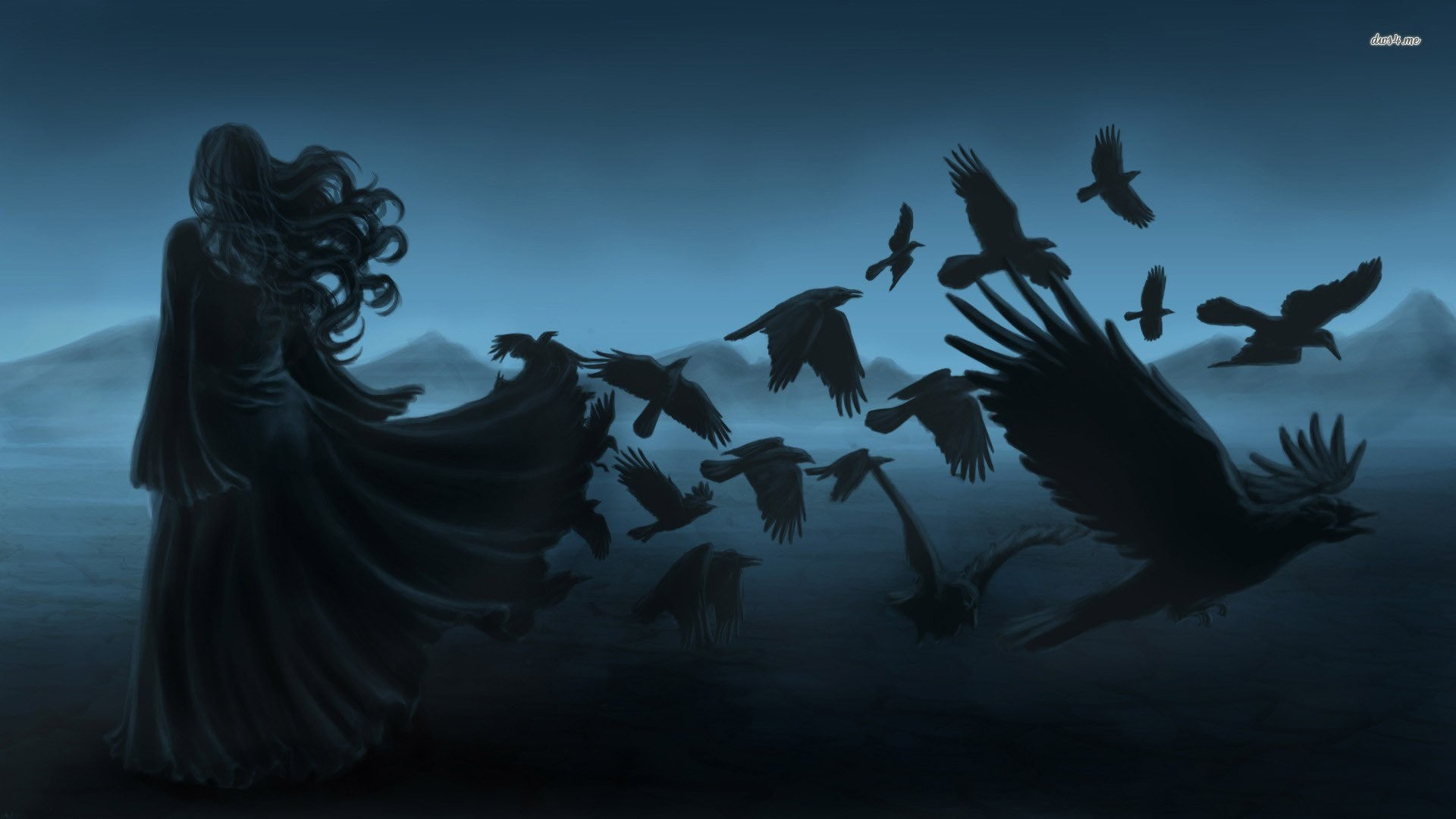 A Collection Of Dark Mysterious Hd Fantasy Wallpapers: Wicca Wallpapers (49+ Images
