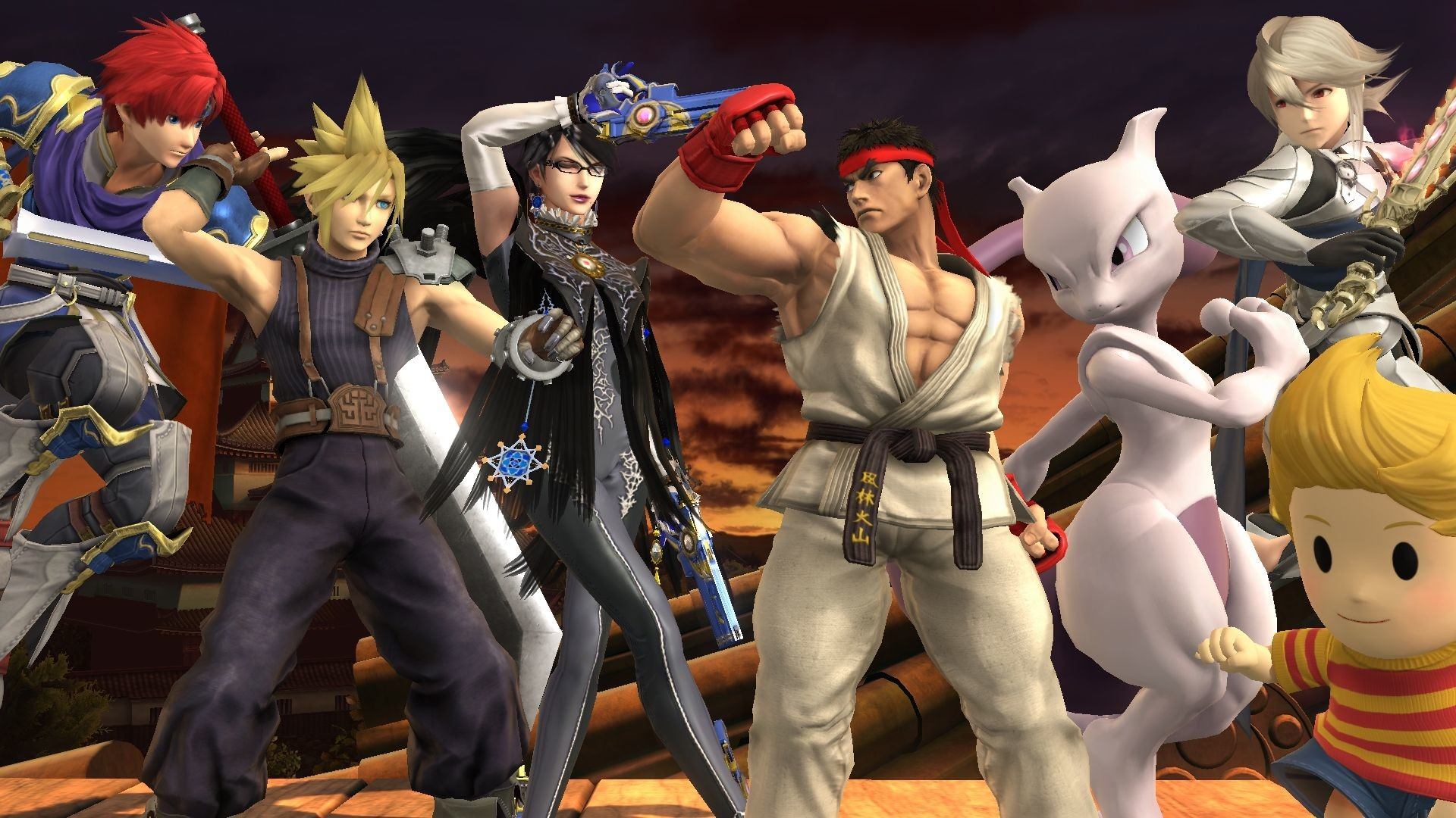 1920x1080 Super Smash Bros. - are the DLC fighters worth the price?