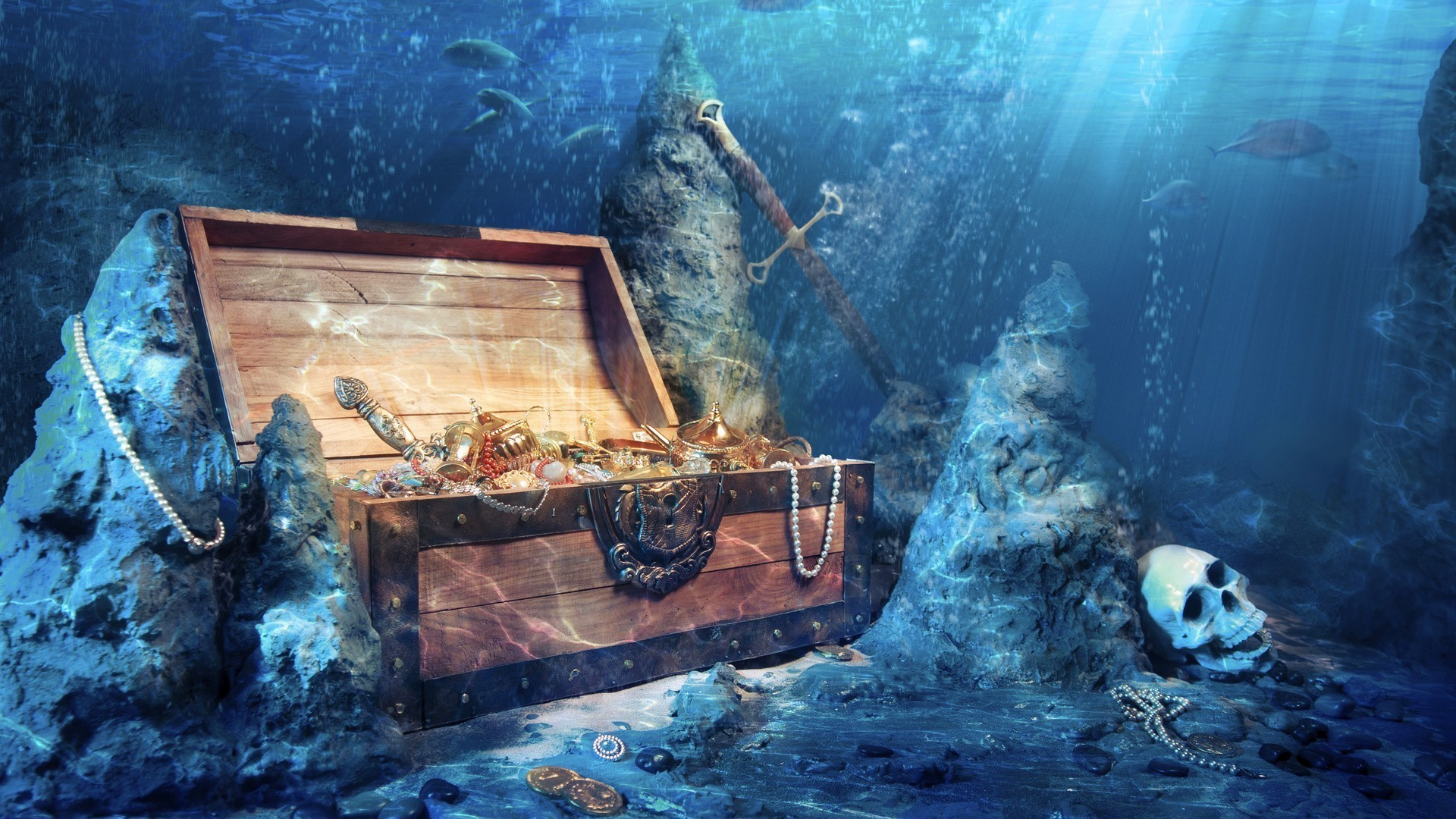 1920x1080 Marine life water underwater shipwreck fish one calamity recreation ocean  HD wallpaper. Android wallpapers for free.