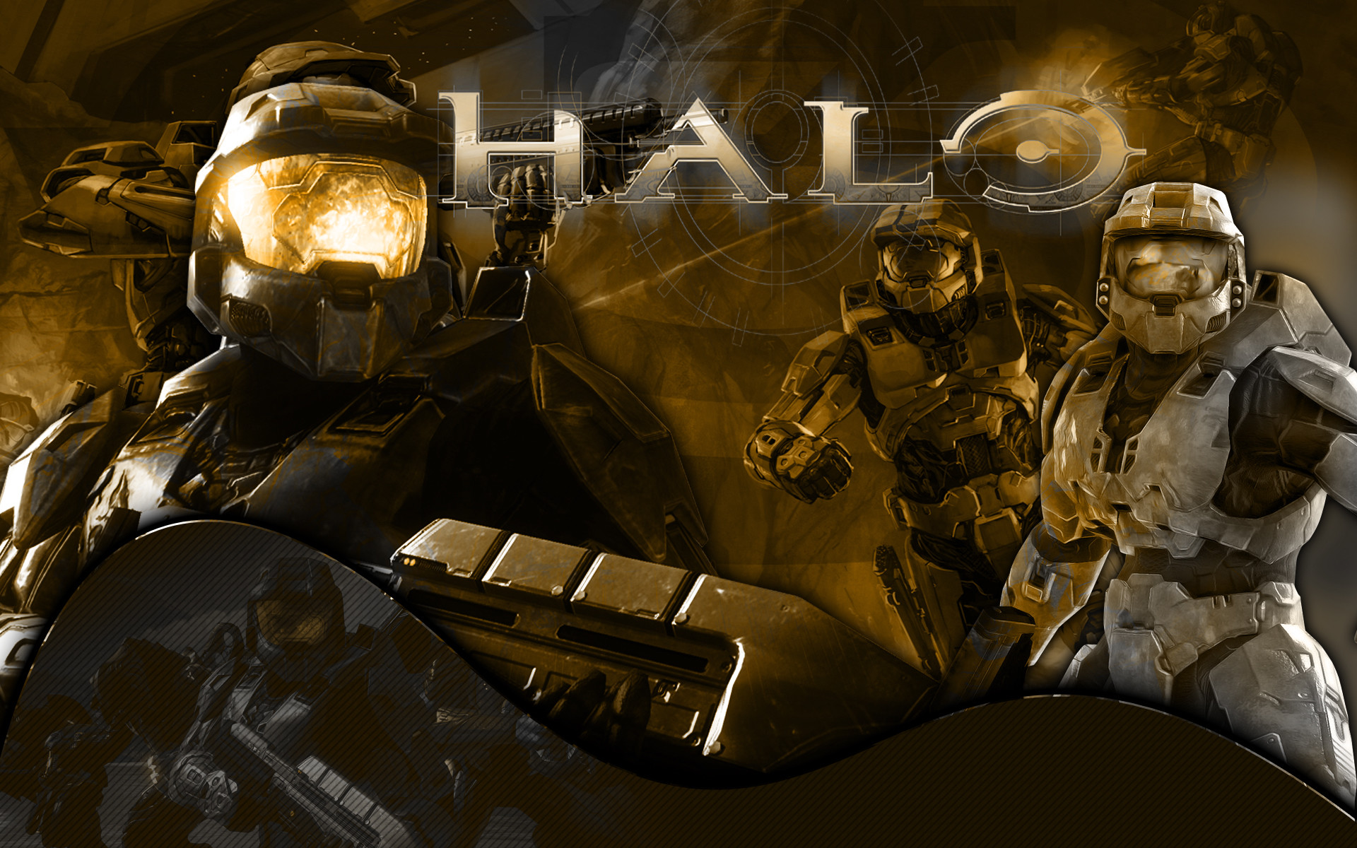 1920x1200 Cool Halo 3 Wallpaper