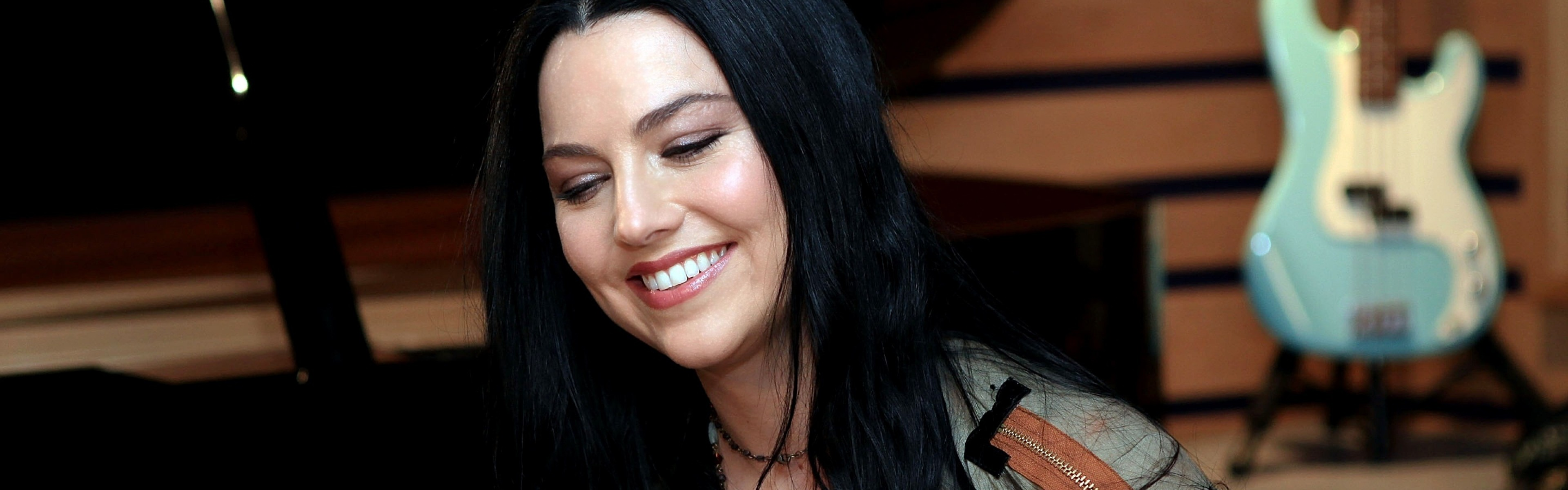 3840x1200  Wallpaper amy lee, evanescence, singer