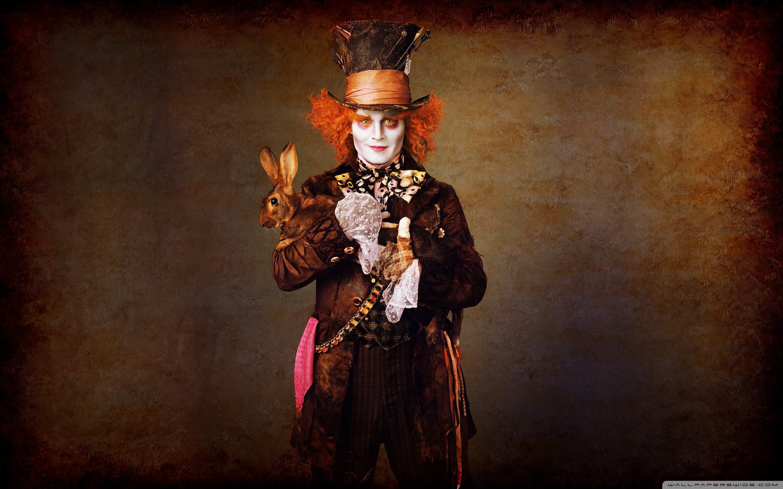 2560x1600 Johnny Depp In Alice In Wonderland HD Wide Wallpaper for Widescreen