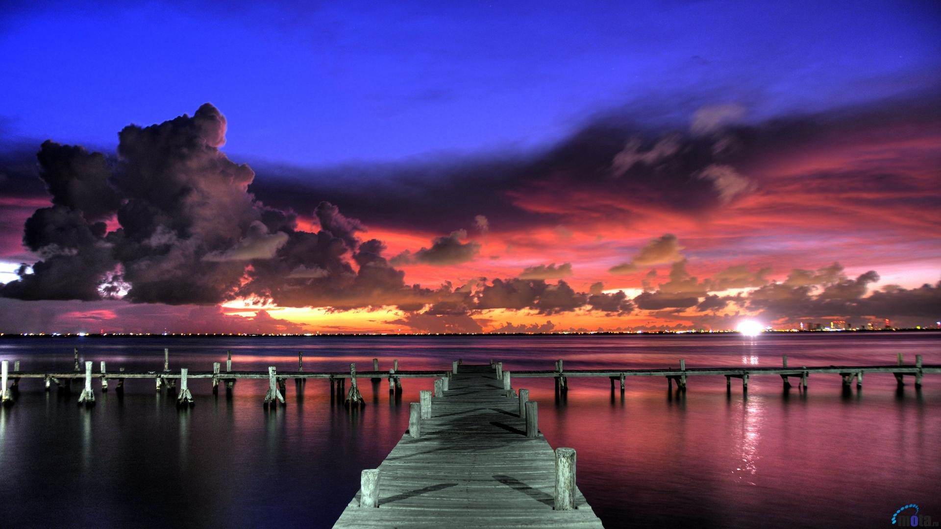 1920x1080 Gorgeous, Purple, Sunset, Wallpaper, High, Definition, Desktop, Background, Pictures, Free, Cool, Desktop Images, Best, 1920×1080 Wallpaper HD