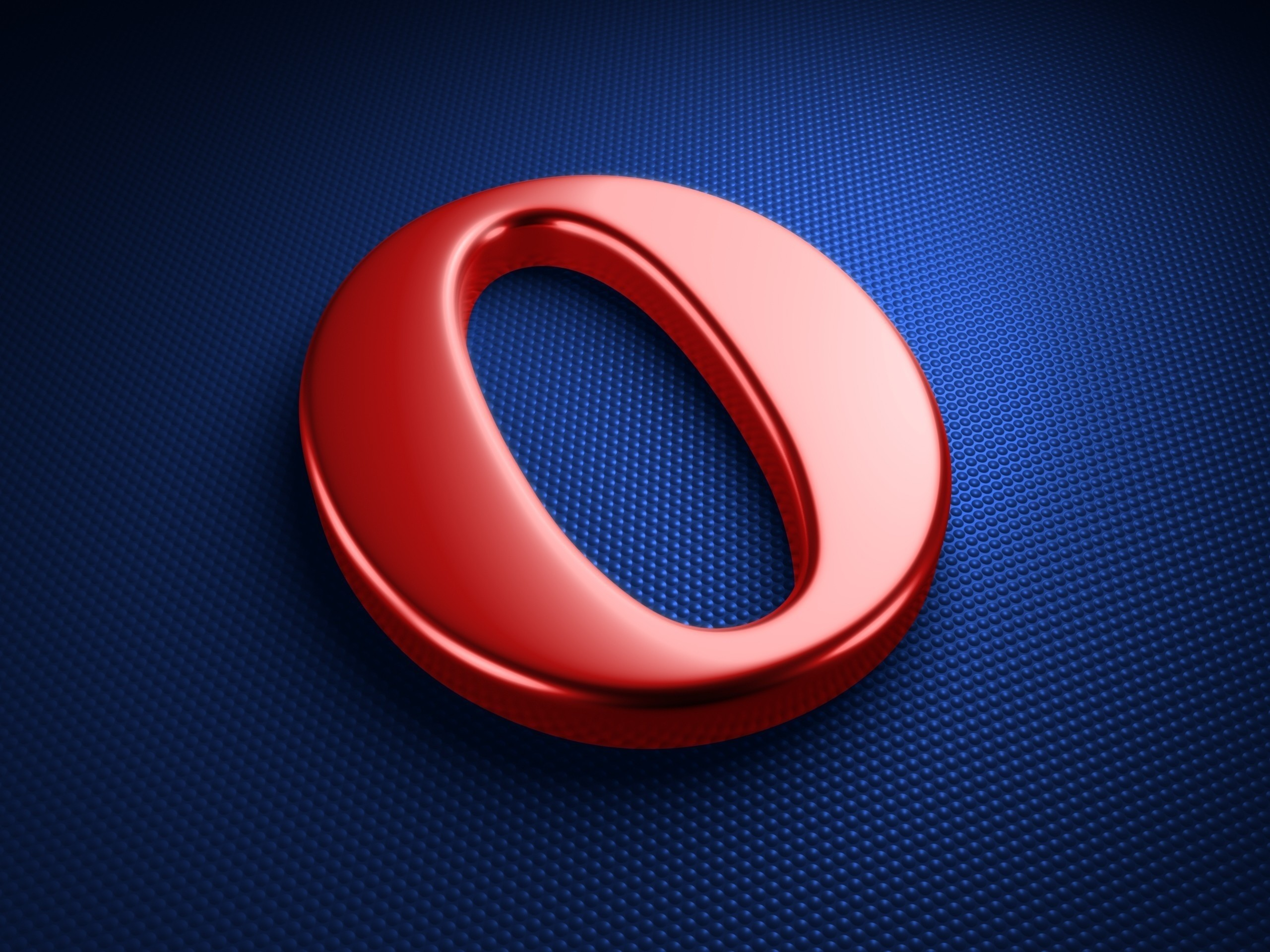 2560x1920  Wallpaper opera, logo, red, letter, browser