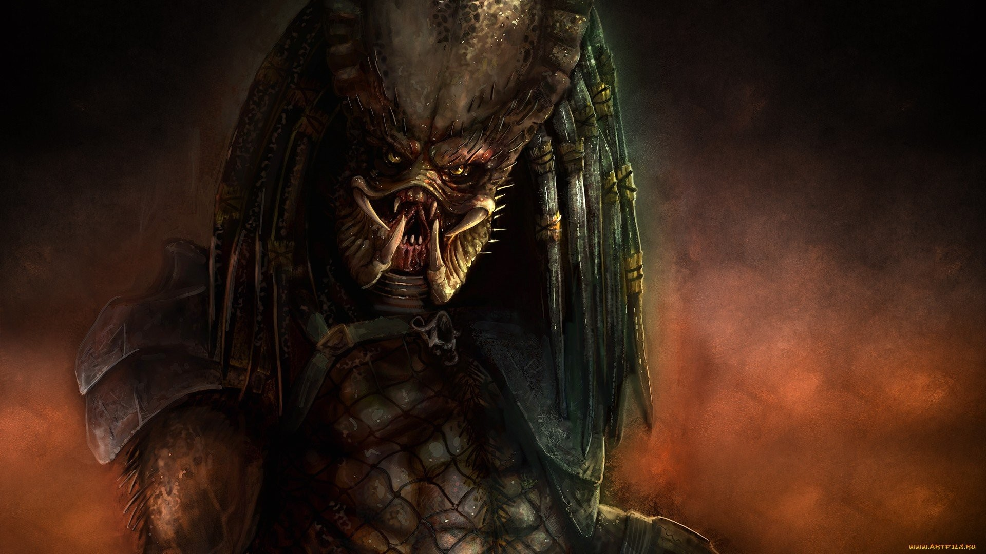 1920x1080 HD Predator Wallpaper