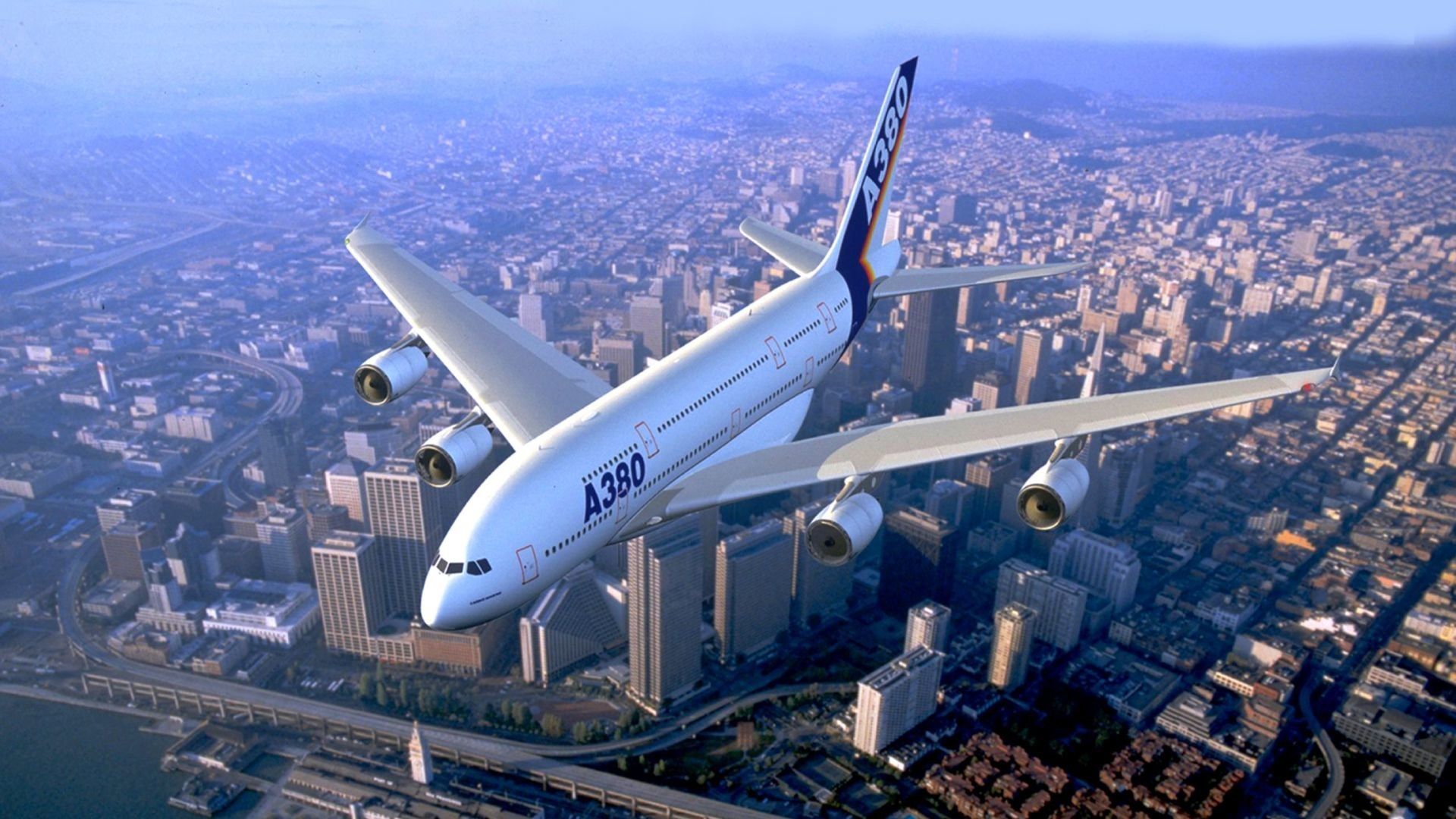 1920x1080 Airbus A380 Wallpaper For Desktop 1920X1080 Full Hd