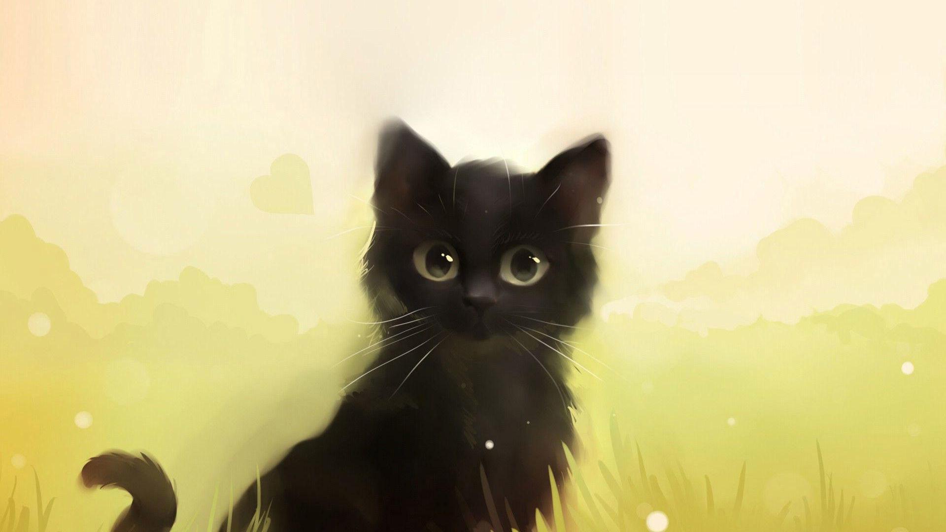 Cute cartoon cat wallpaper 71 images - Cute kitten backgrounds for desktop ...