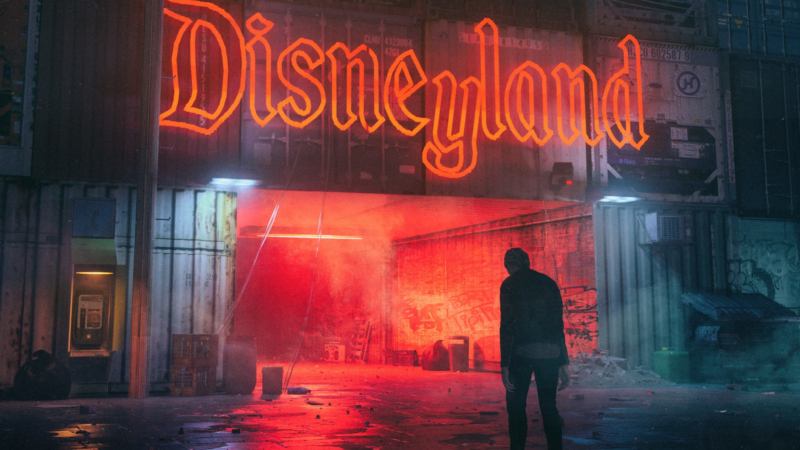 2560x1440 Neon Disneyland Wallpapers. Â«Â«