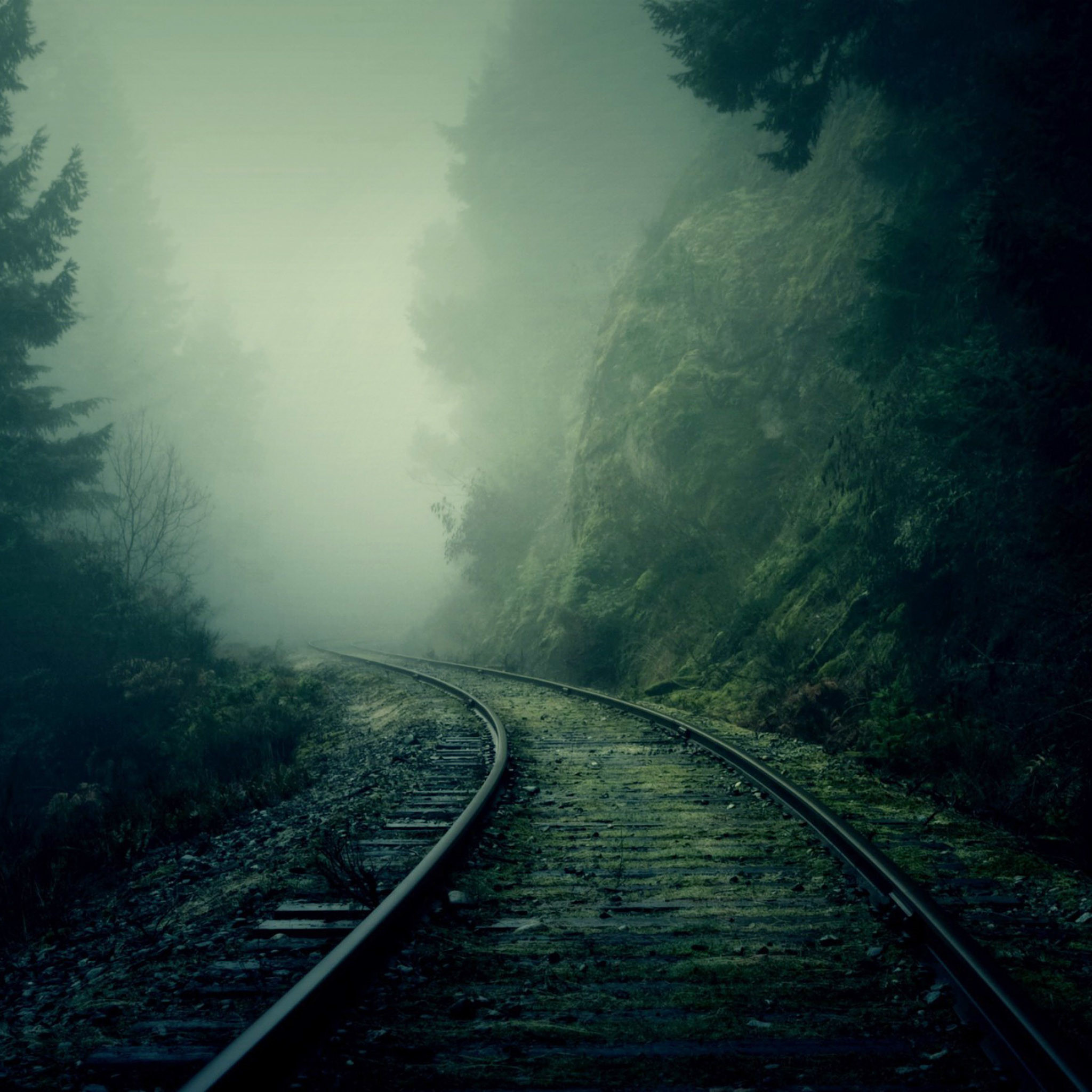Train Track Wallpaper (74+ Images