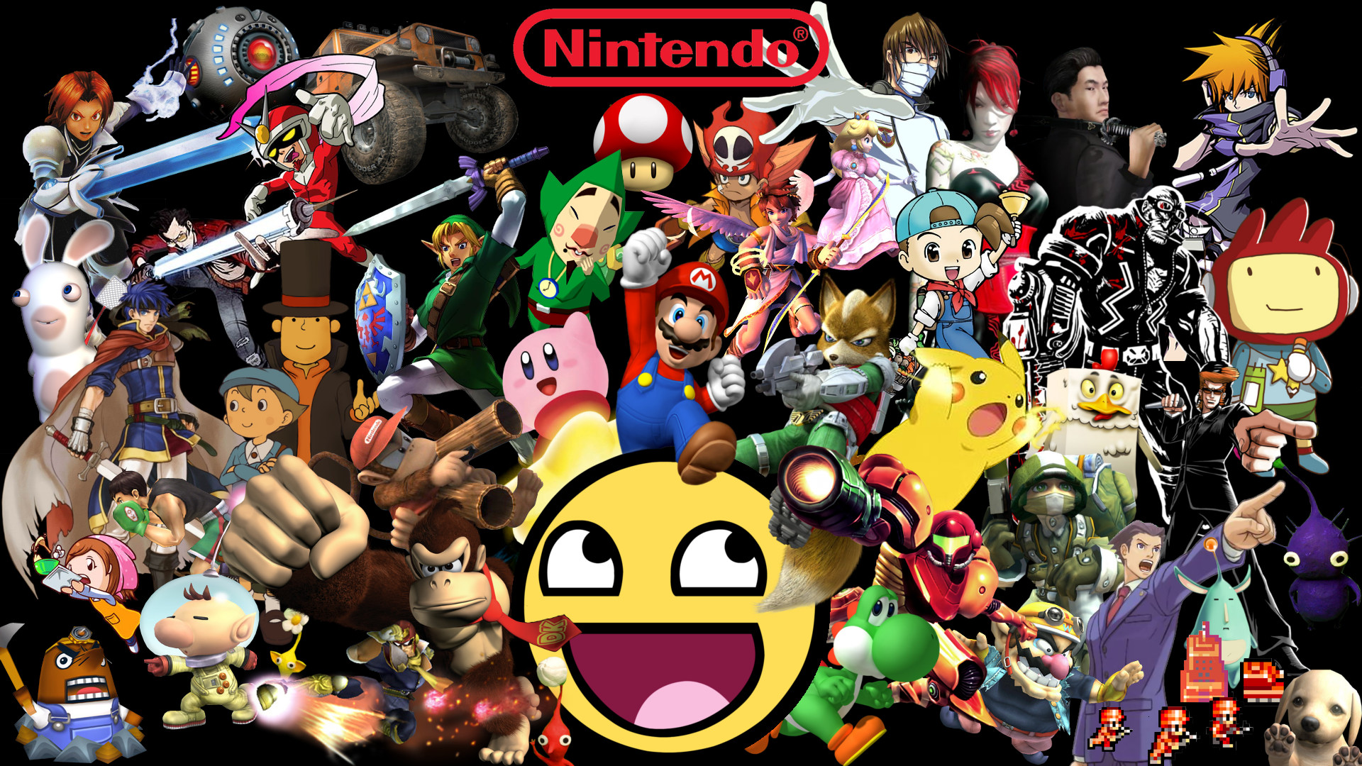 1920x1080 Awesome Nintendo Wallpaper