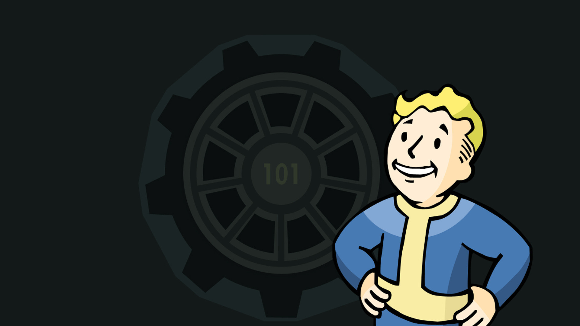 1920x1080 Vault Boy - Fallout wallpaper #5580