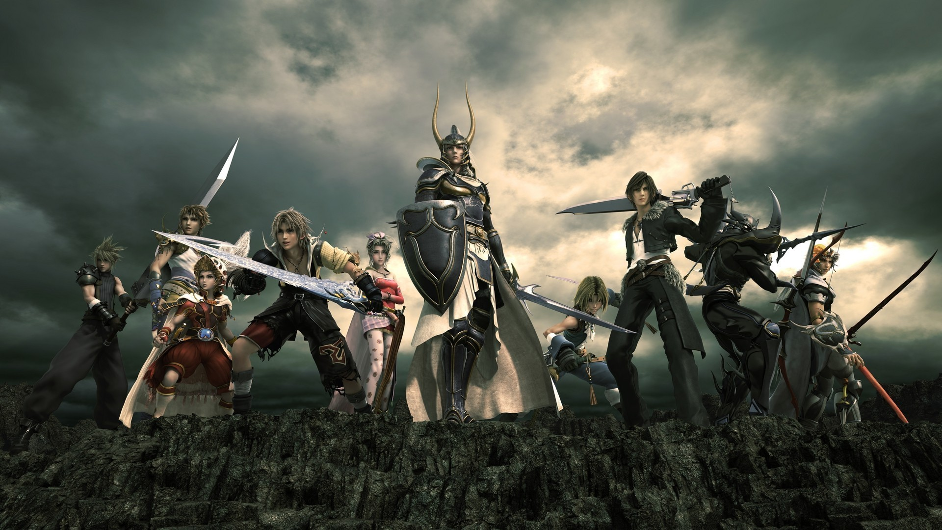 1920x1080 Wallpaper Final Fantasy Collection For Free Download