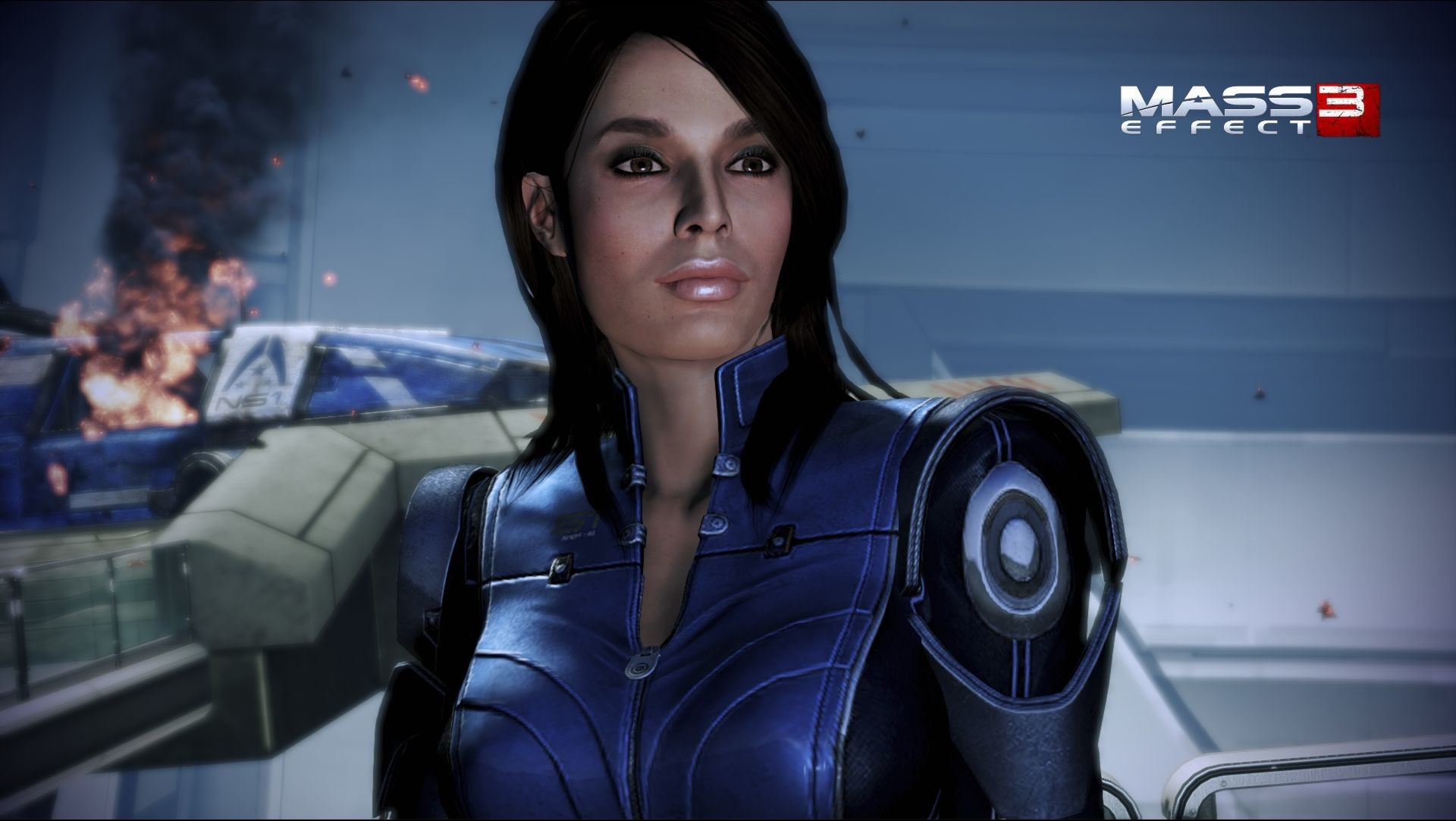 Mass effect 3 ashley williams naked porn videos