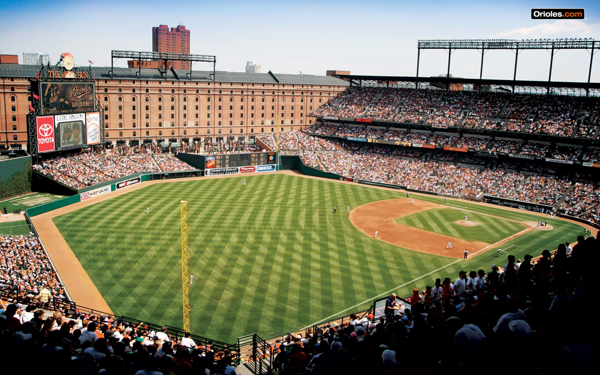 1920x1200 Camden Yards Wallpaper