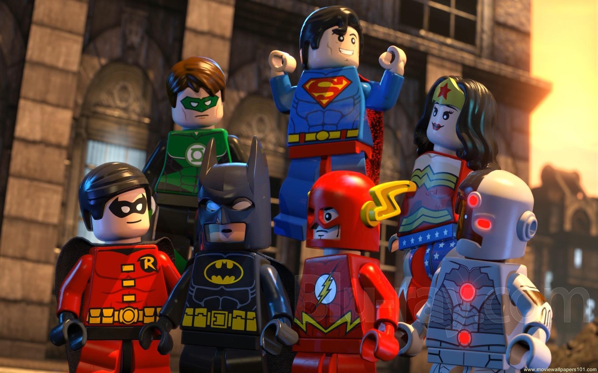 The Lego Batman Movie Wallpaper