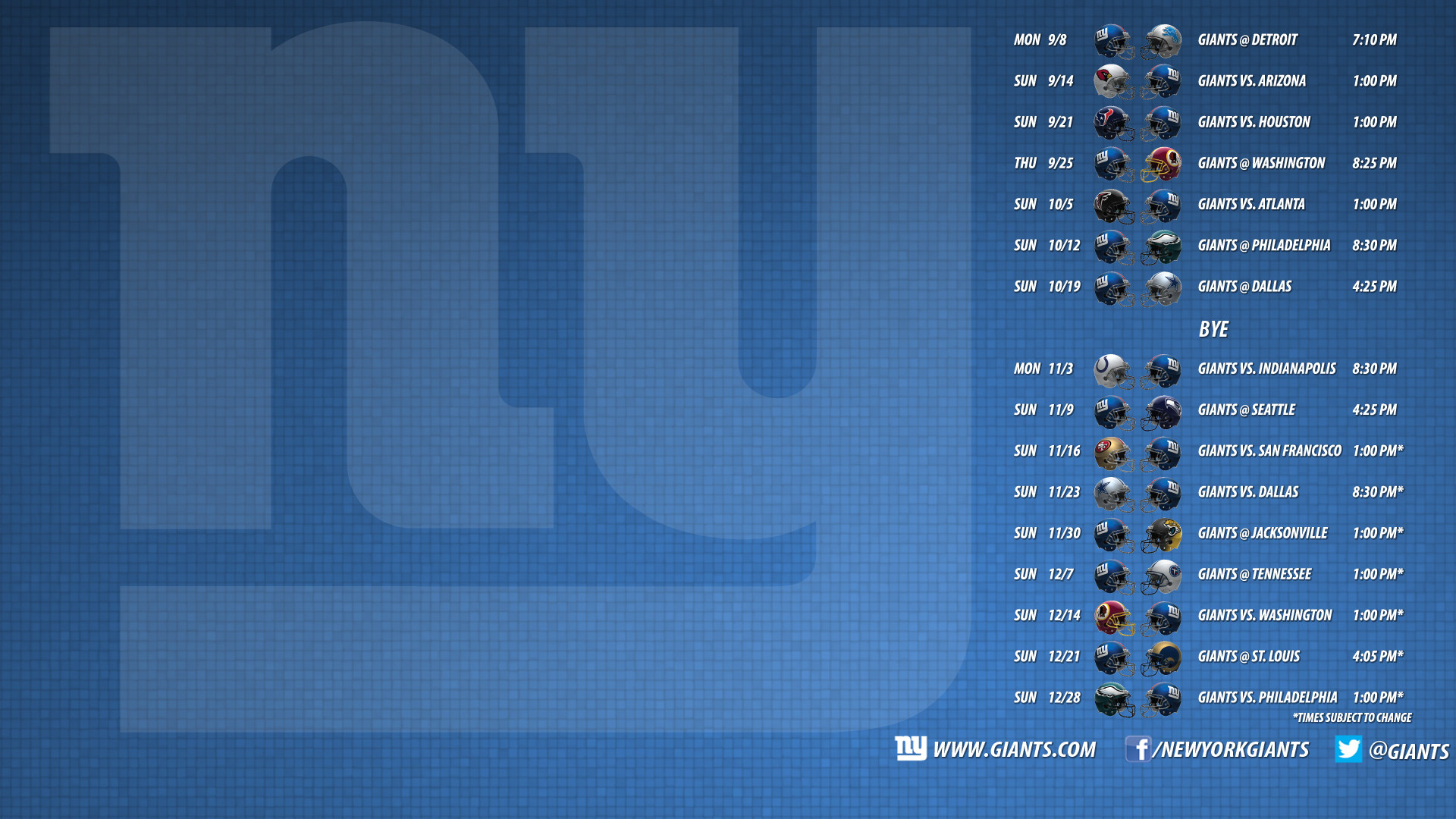 1920x1080 Download the Giants 2016 schedule desktop wallpaper