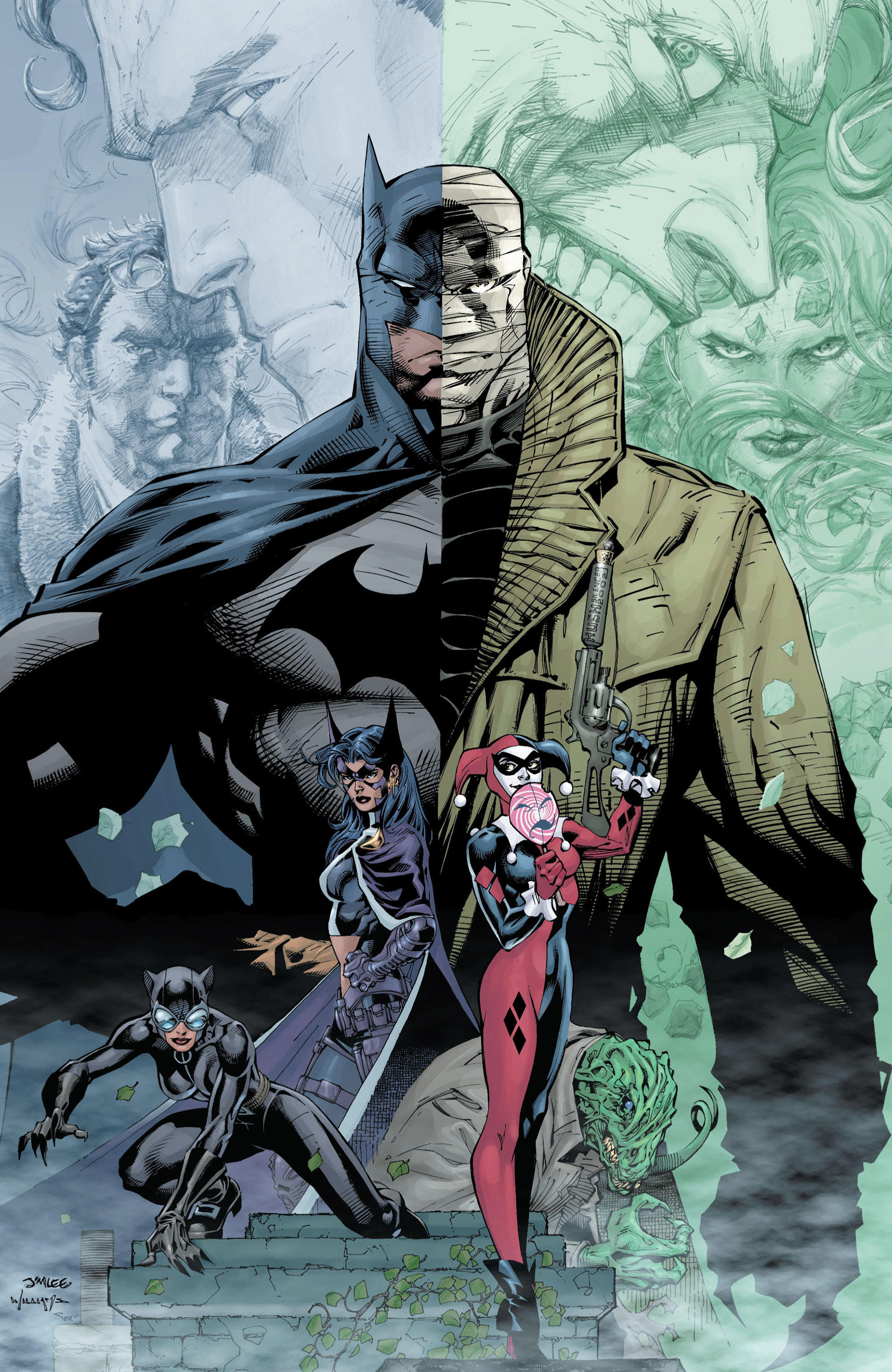 1920x2951 Batman: Hush