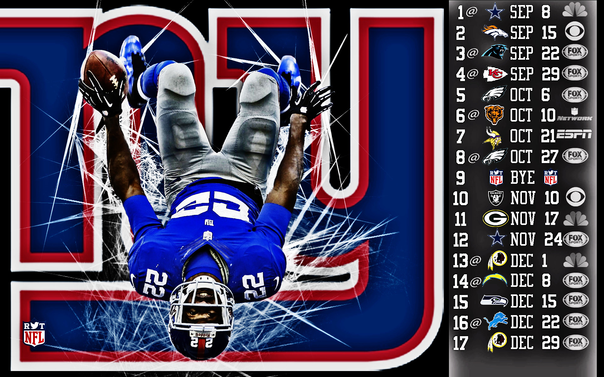 1920x1200 New York Giants