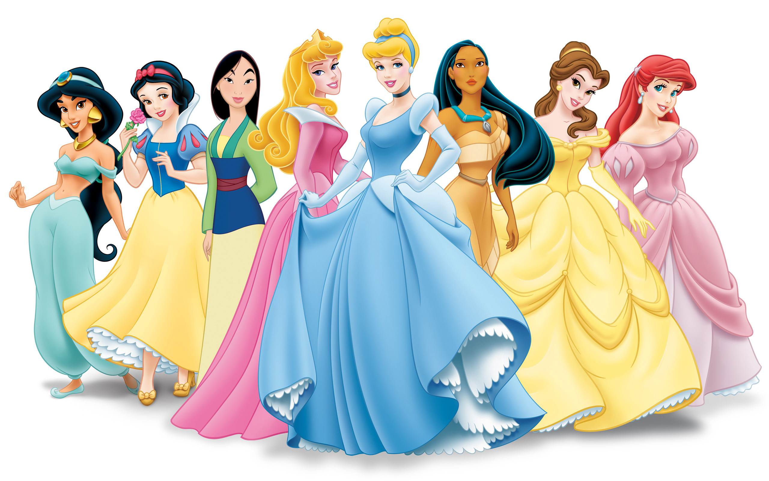 2560x1600 Beautiful Disney Princess Wallpaper