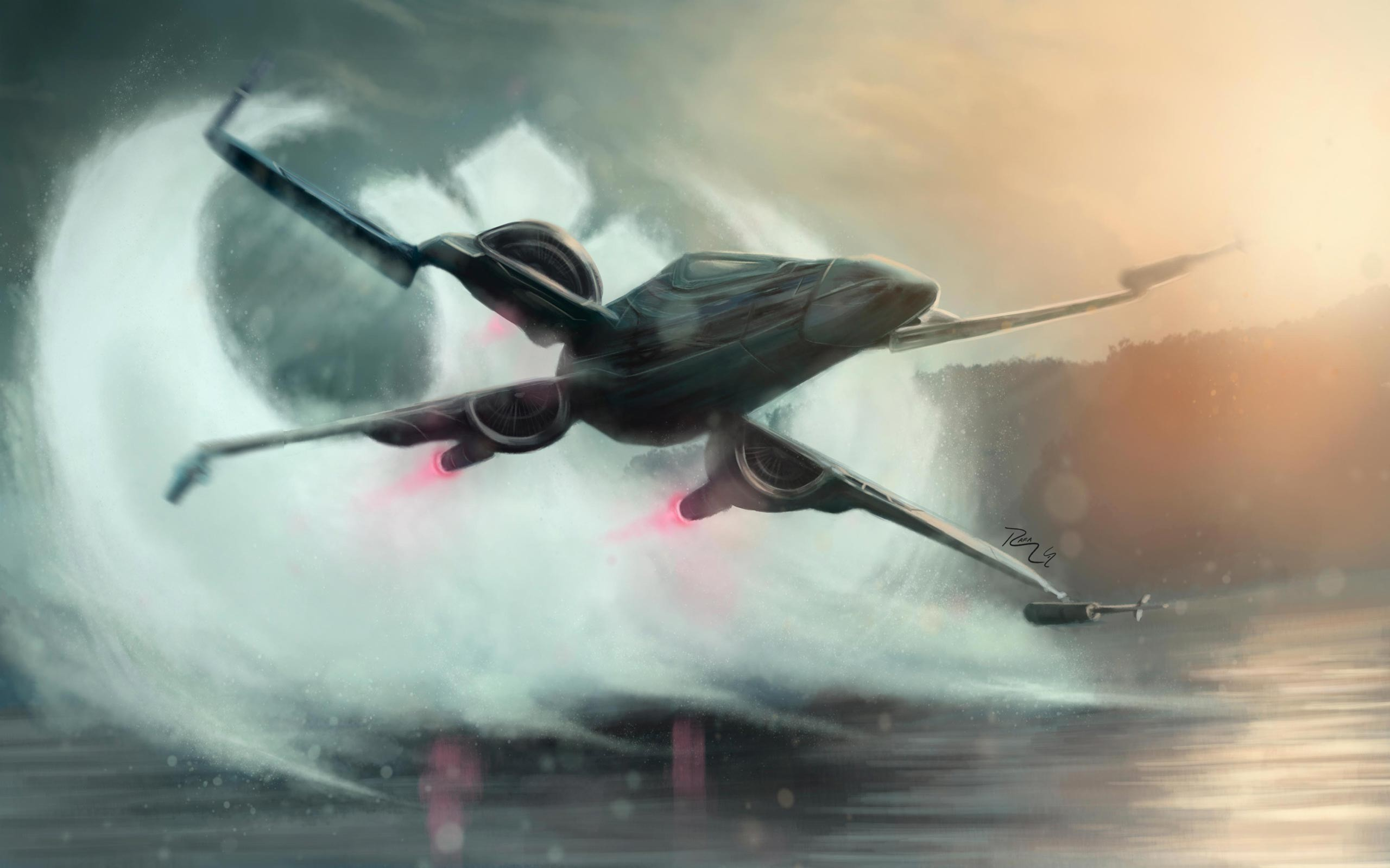 2560x1600 2K HD Rogue One X-Wing 4 -
