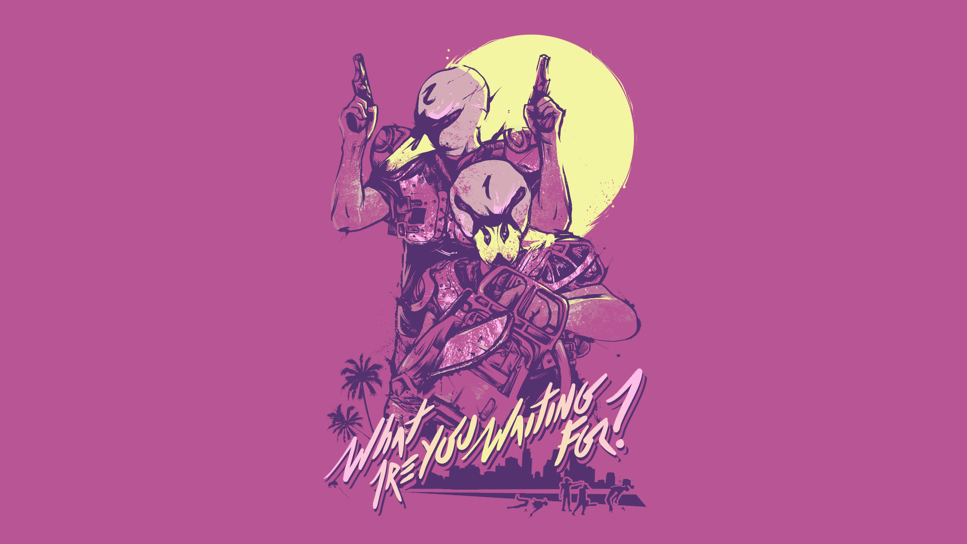 Jacket Hotline Miami Wallpapers (77+ Images