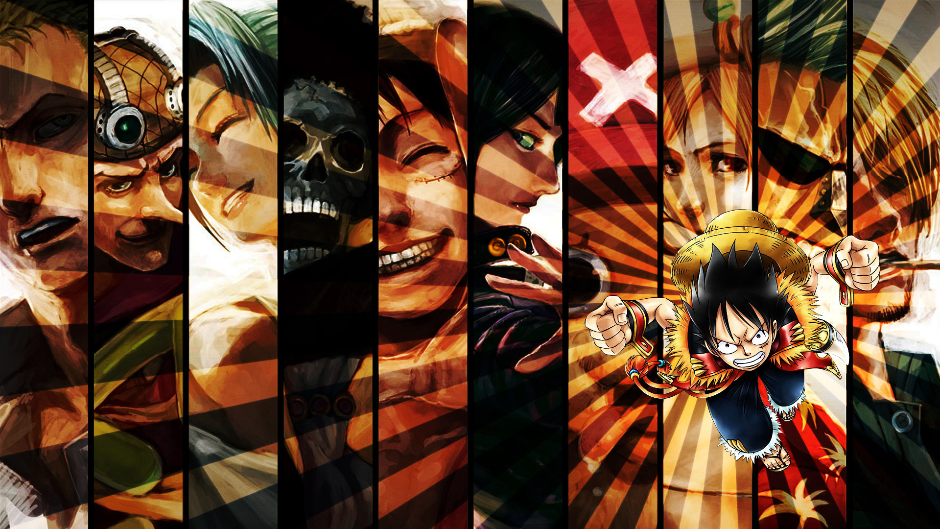 One piece wallpaper luffy 64 images - One piece wallpaper ...