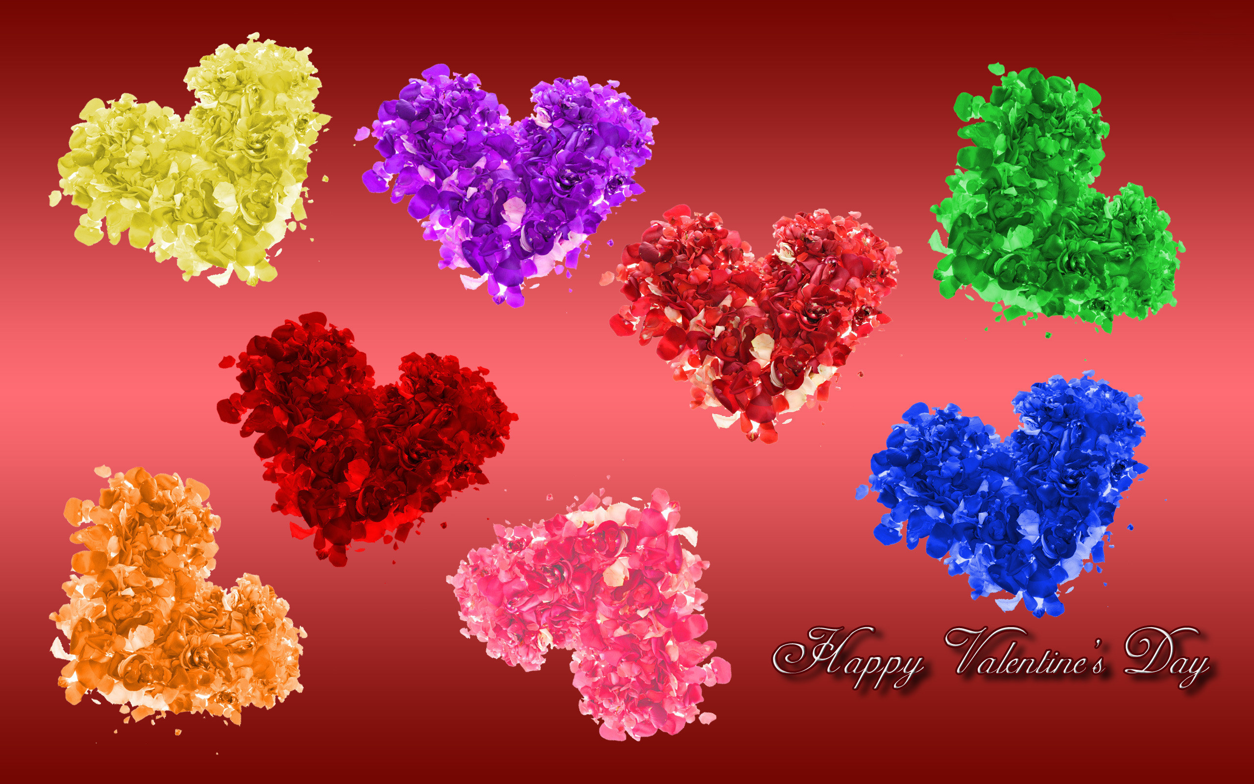 2560x1600 Valentines Day Colorful Wallpaper.