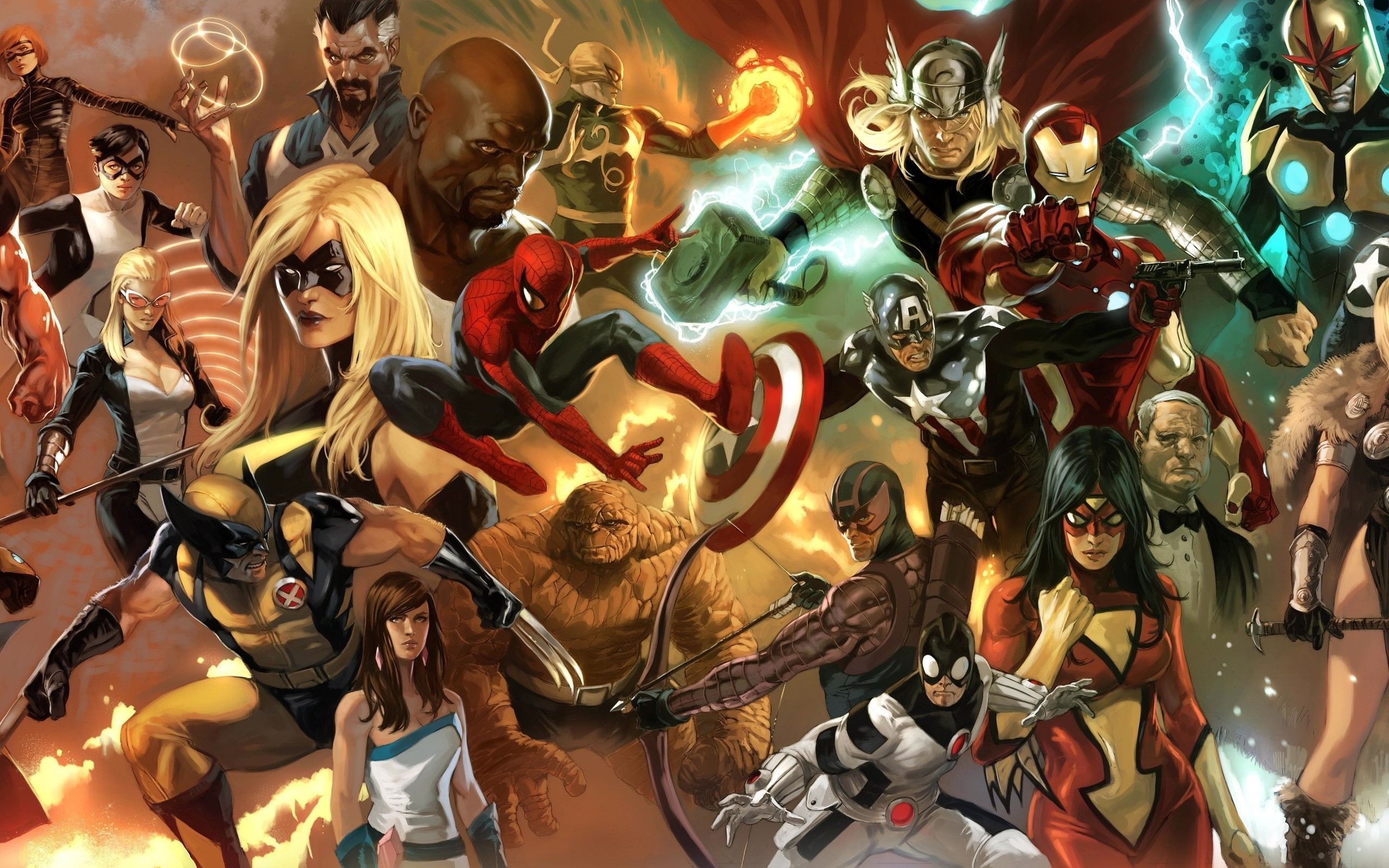 2560x1600 HD Wallpaper | Background Image ID:283337.  Comics Marvel Comics