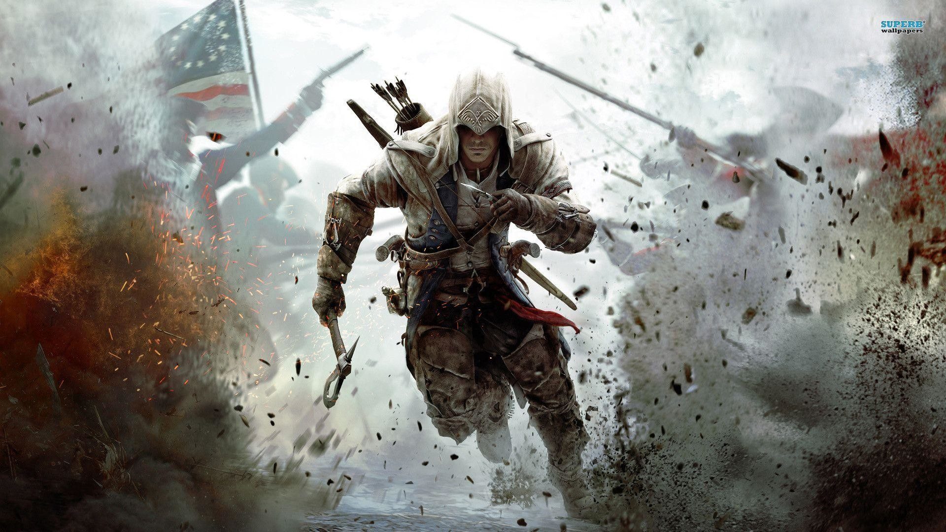 1920x1080 Assassin's Creed III wallpaper - Game wallpapers - #