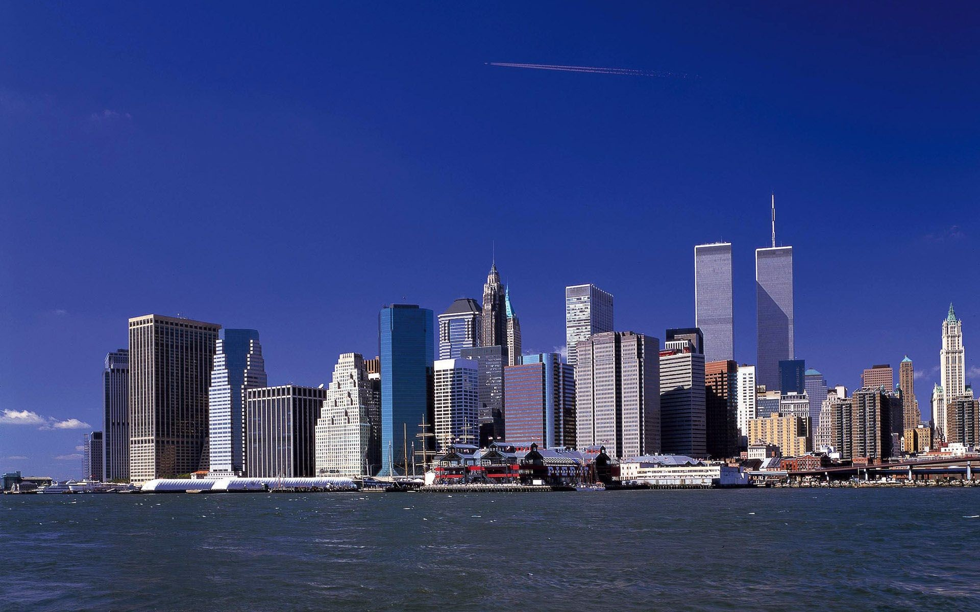 1920x1200 Collection of New York Skyline Wallpaper on HDWallpapers 1920×1200 New York  Skyline Wallpaper (