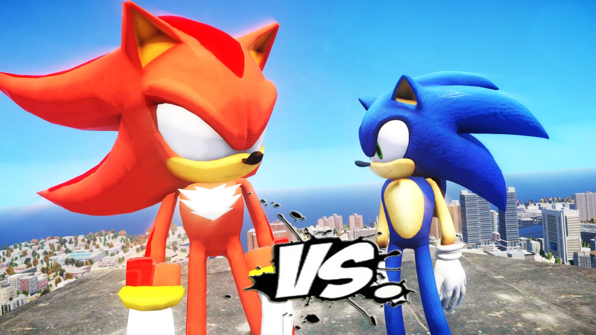 1920x1080 Dark Super Shadow The Hedgehog Vs Sonic The Hedgehog - EPIC BATTLE - YouTube