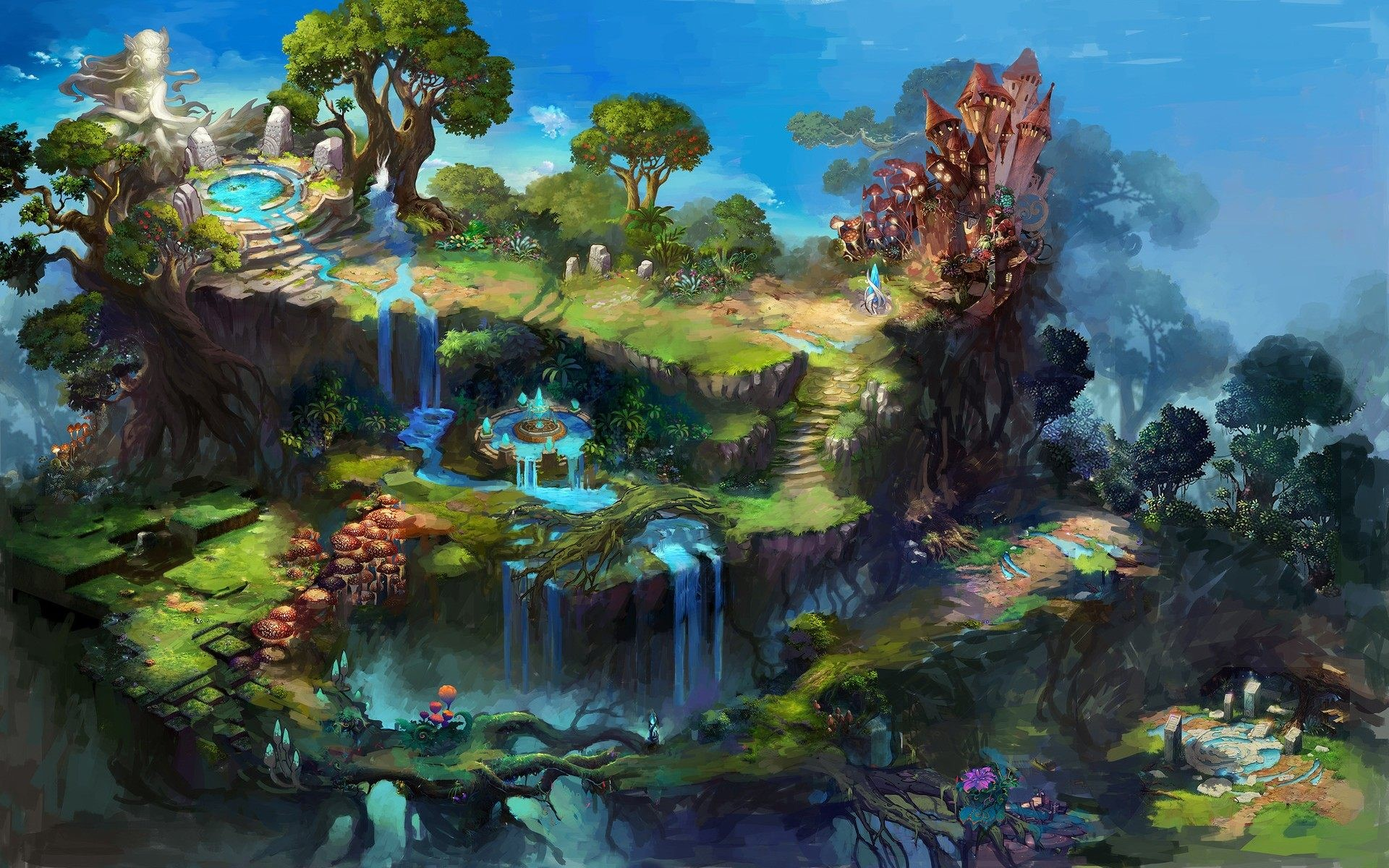 1920x1200 Wallpapers of Fantasy World HD Widescreen