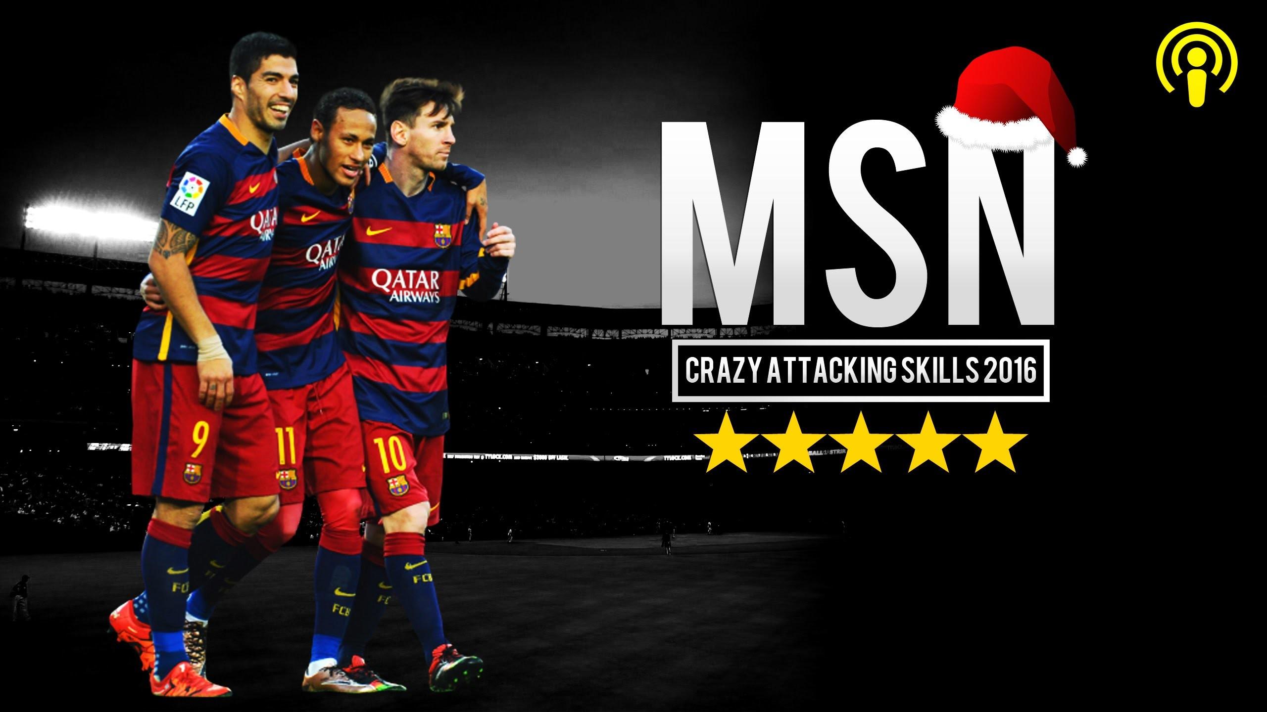 1920x1080 MSN Show A Messi Suarez Neymar Ready For 2015 2016 Season