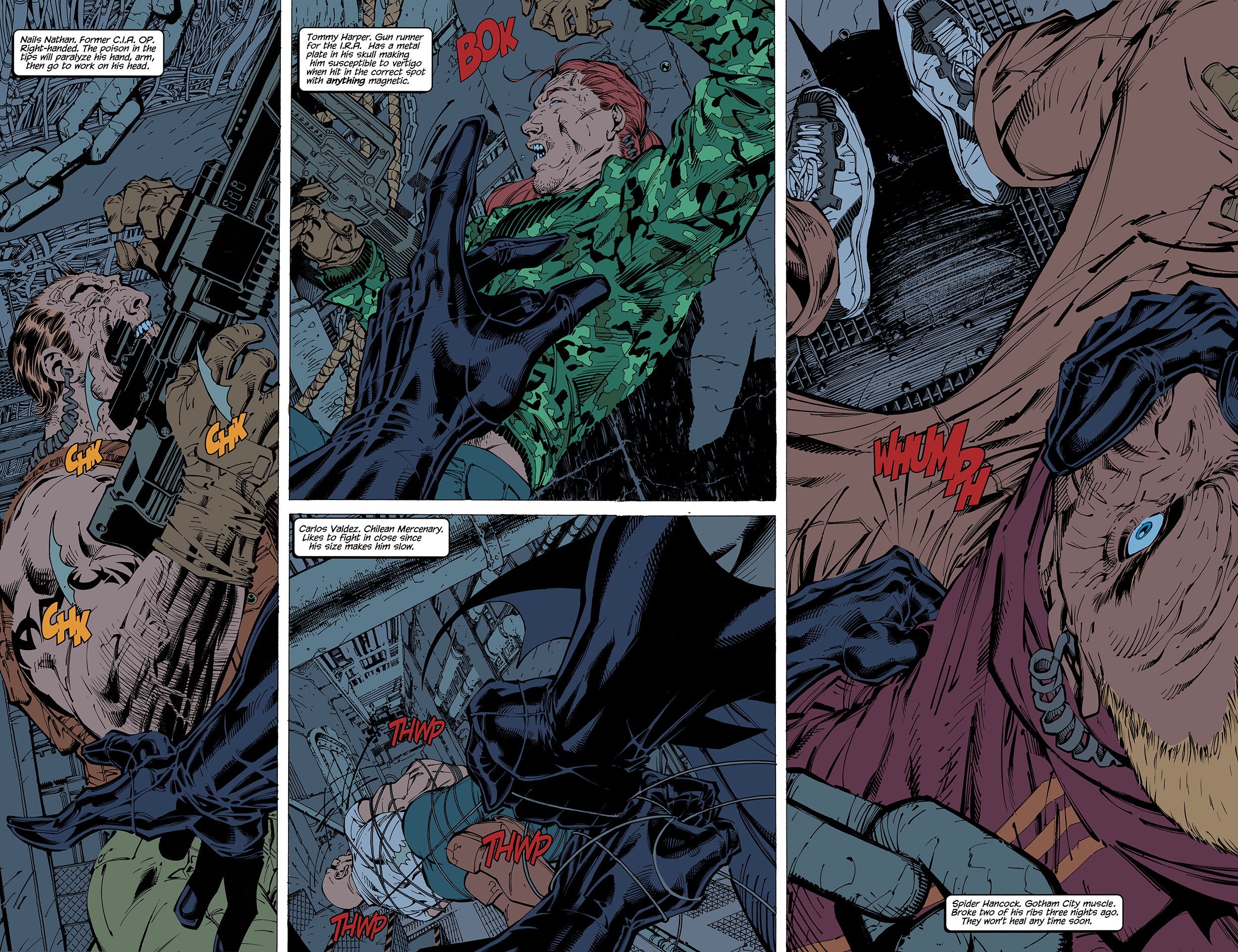 2500x1923 ... Batman: Hush pages 2-3 FLATS by J-Skipper