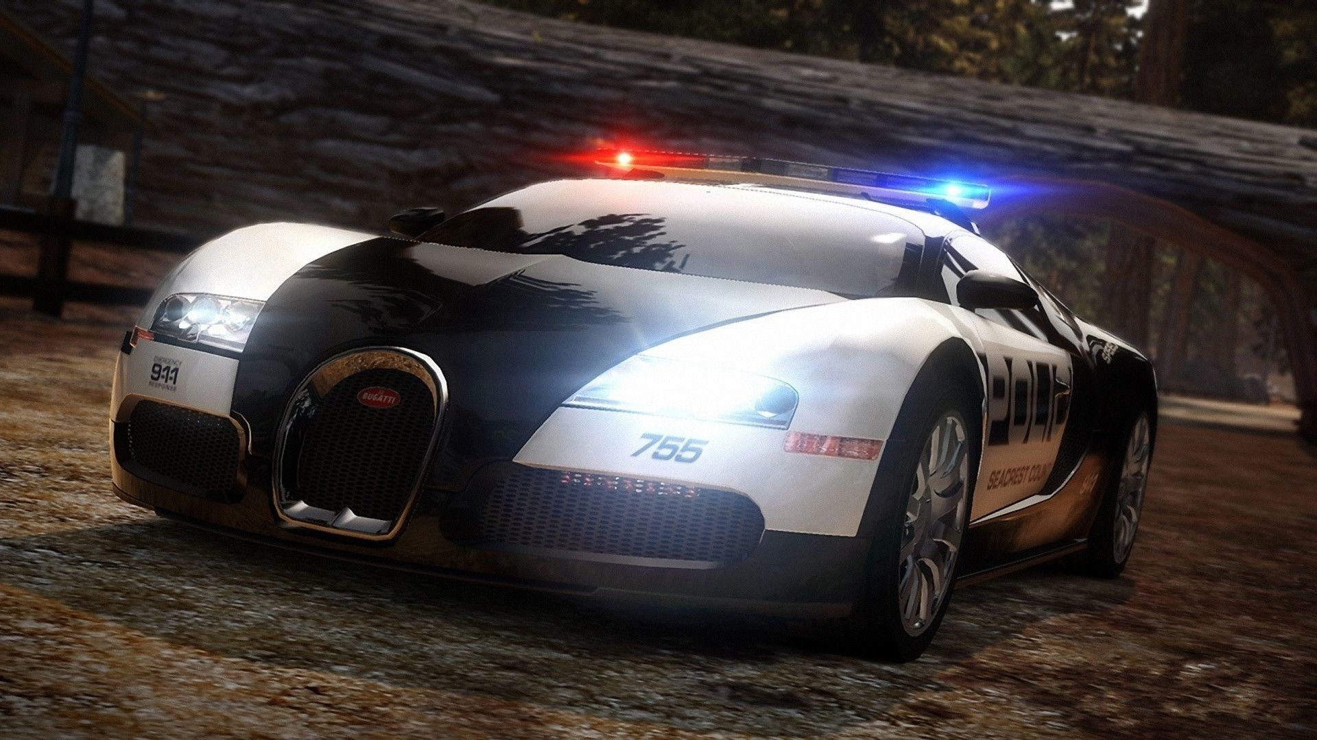 1920x1080 Need for Speed Rivals Police Car HD desktop wallpaper Widescreen