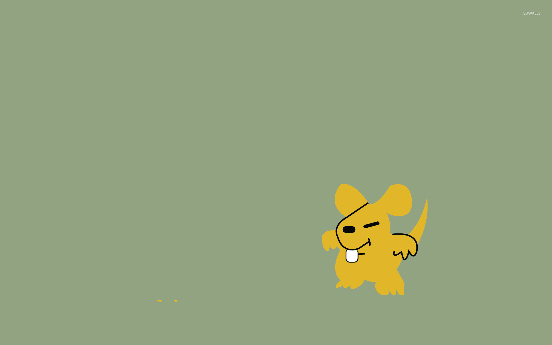 1920x1200 No Name Mouse - EarthBound wallpaper  jpg