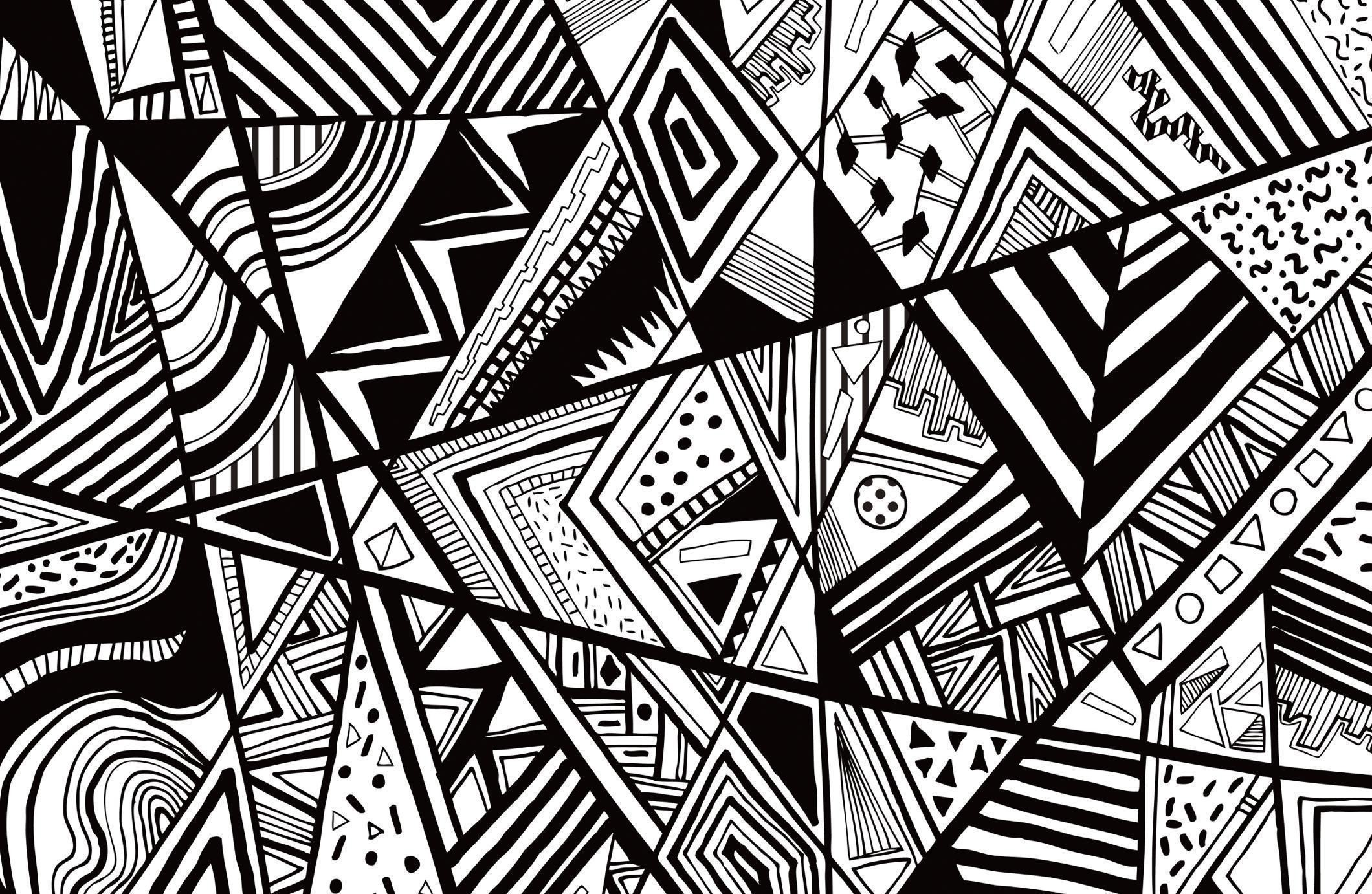 Black and White Swirl Wallpaper 32 images